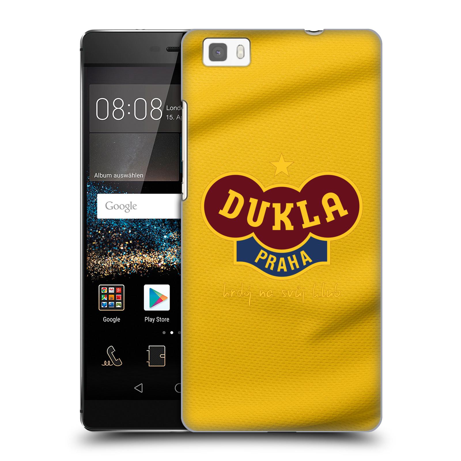 Plastové pouzdro na mobil Huawei P8 Lite - FK Dukla Praha - Žlutý dres