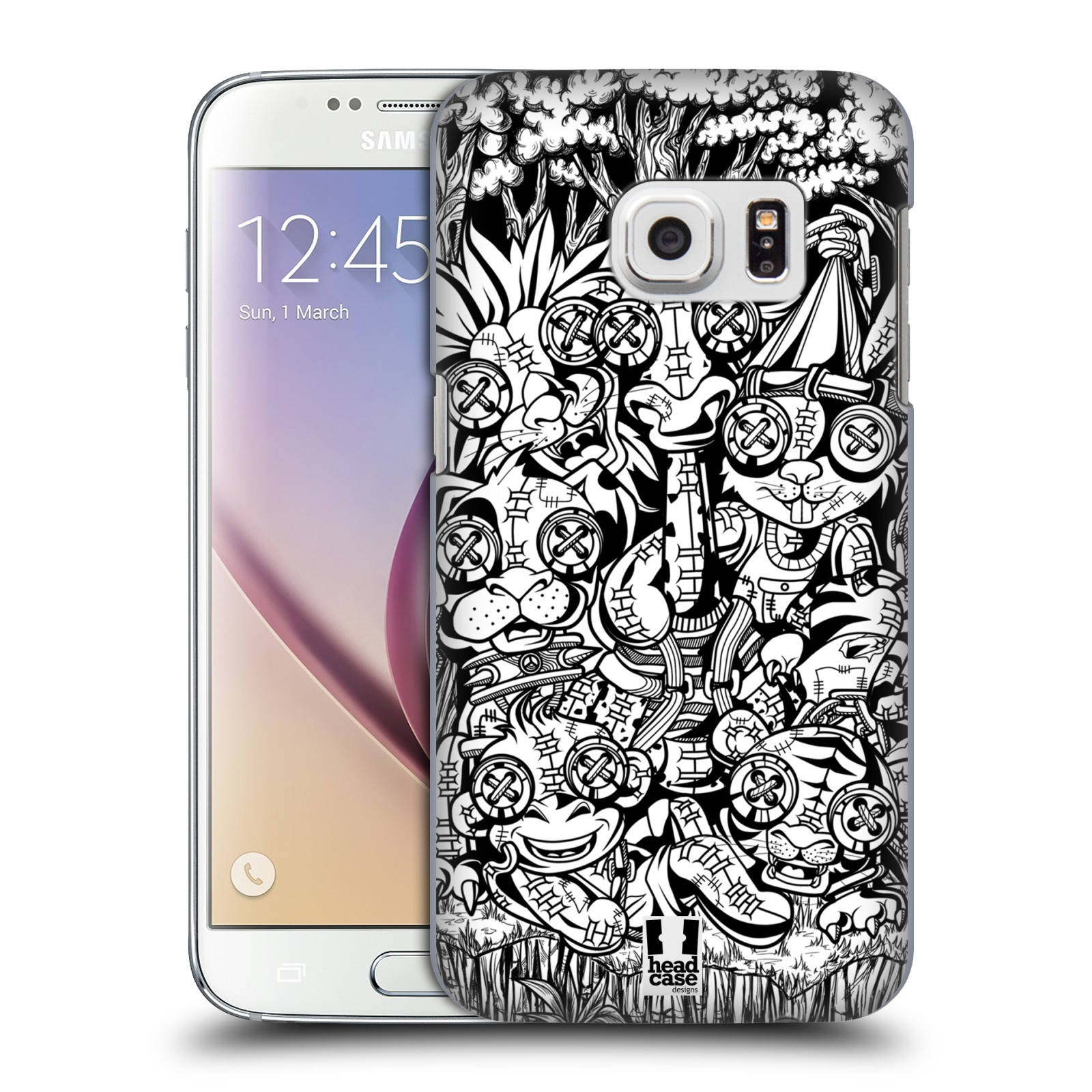 Plastové pouzdro na mobil Samsung Galaxy S7 HEAD CASE VOODOO ZVÍŘÁTKA (Kryt či obal na mobilní telefon Samsung Galaxy S7 SM-G930F)