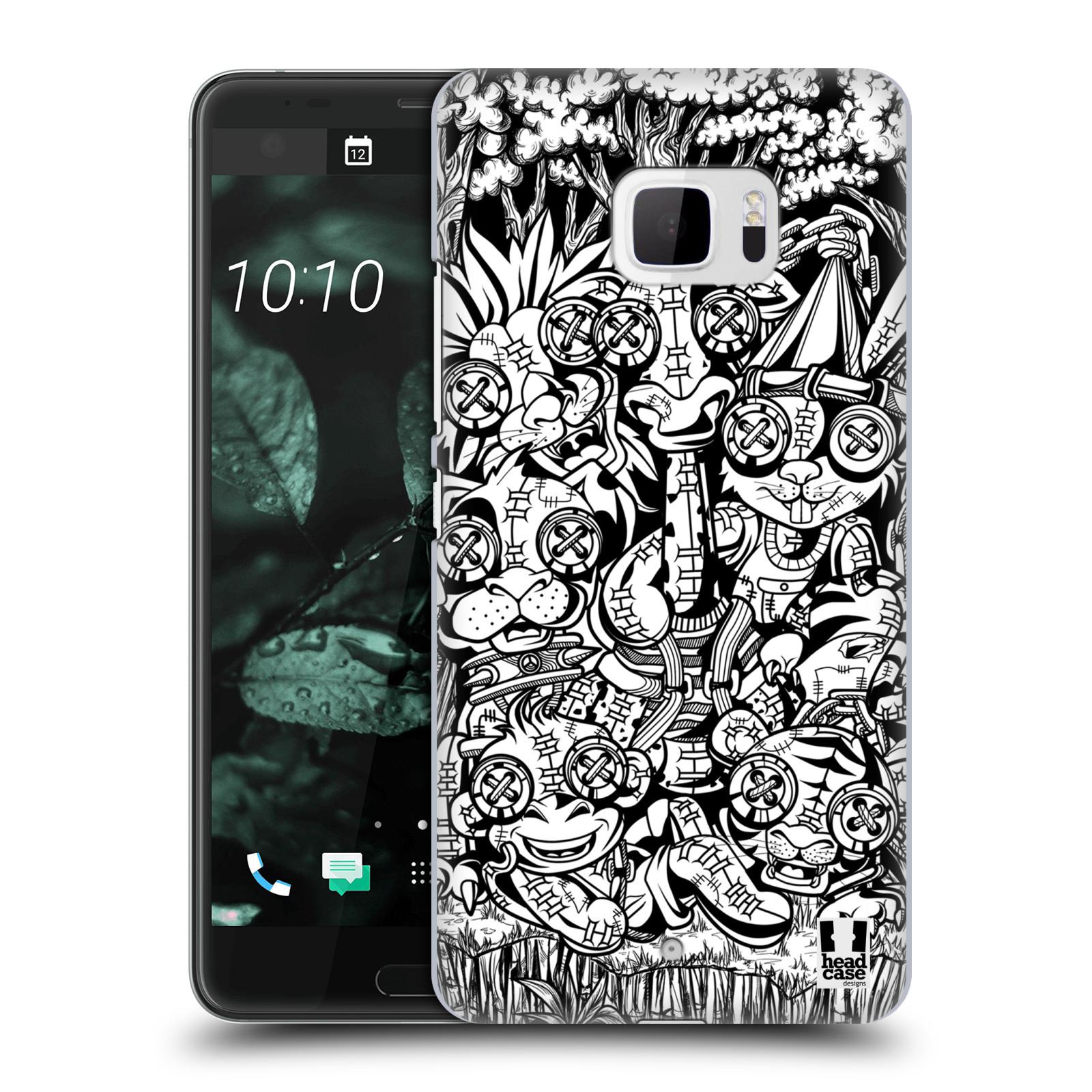 Plastové pouzdro na mobil HTC U Ultra Head Case - VOODOO ZVÍŘÁTKA (Plastový kryt či obal na mobilní telefon HTC U Ultra (99HALT015-00))