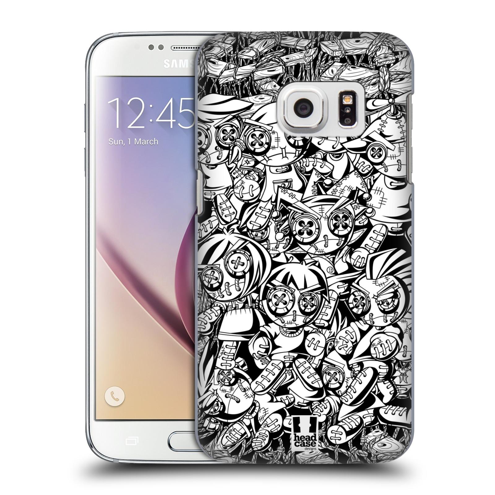 Plastové pouzdro na mobil Samsung Galaxy S7 HEAD CASE VOODOO PUNK (Kryt či obal na mobilní telefon Samsung Galaxy S7 SM-G930F)