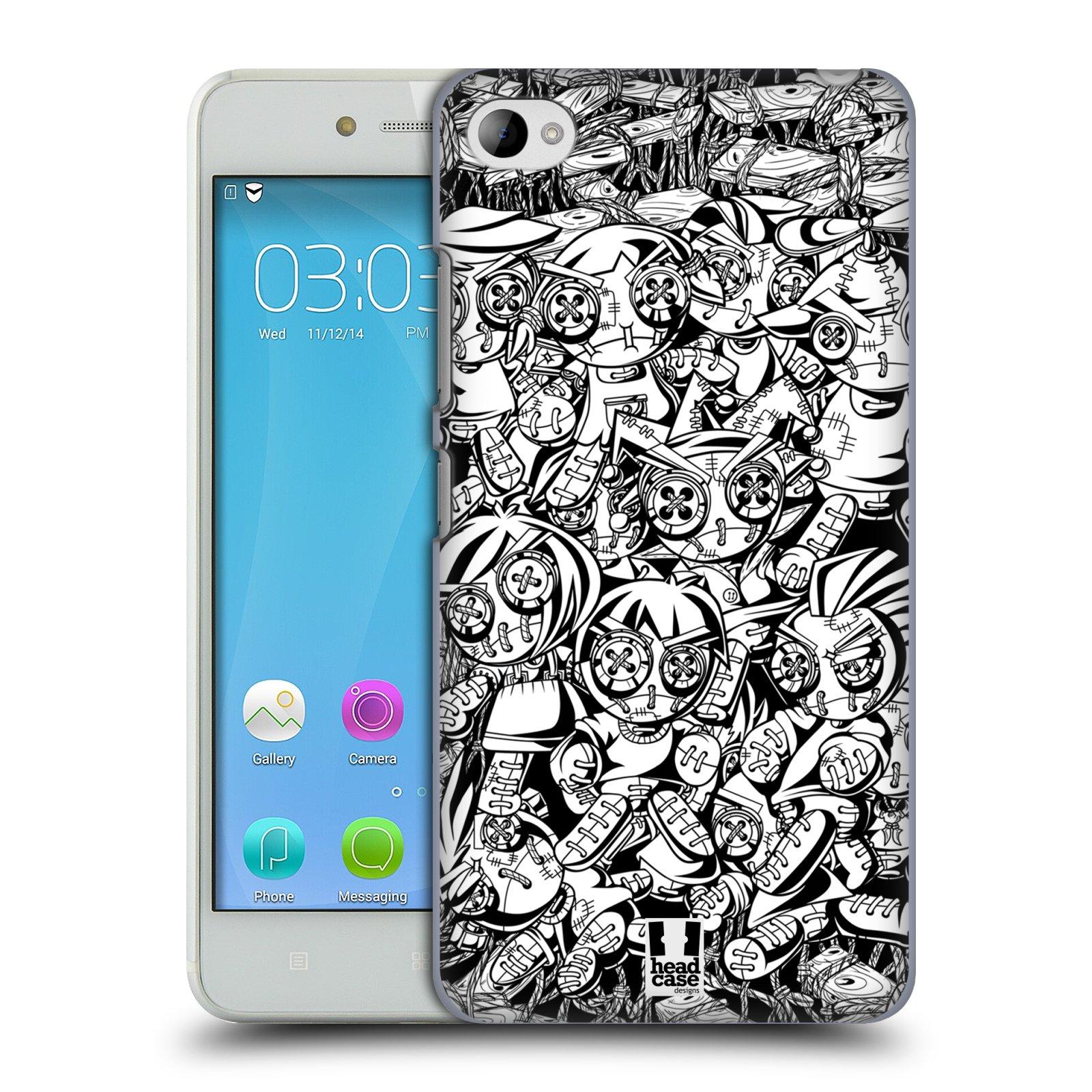 Plastové pouzdro na mobil Lenovo S90 HEAD CASE VOODOO PUNK (Kryt či obal na mobilní telefon Lenovo S90)