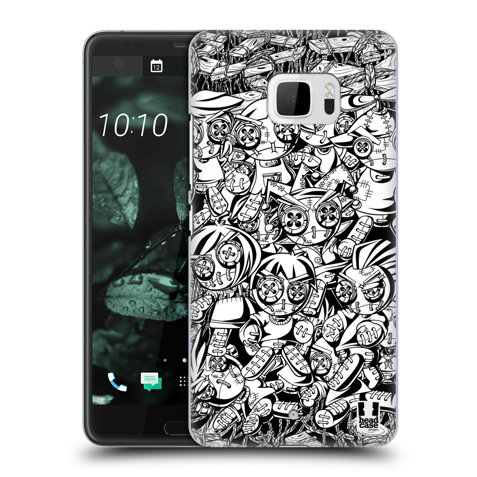 Plastové pouzdro na mobil HTC U Ultra Head Case - VOODOO PUNK (Plastový kryt či obal na mobilní telefon HTC U Ultra (99HALT015-00))