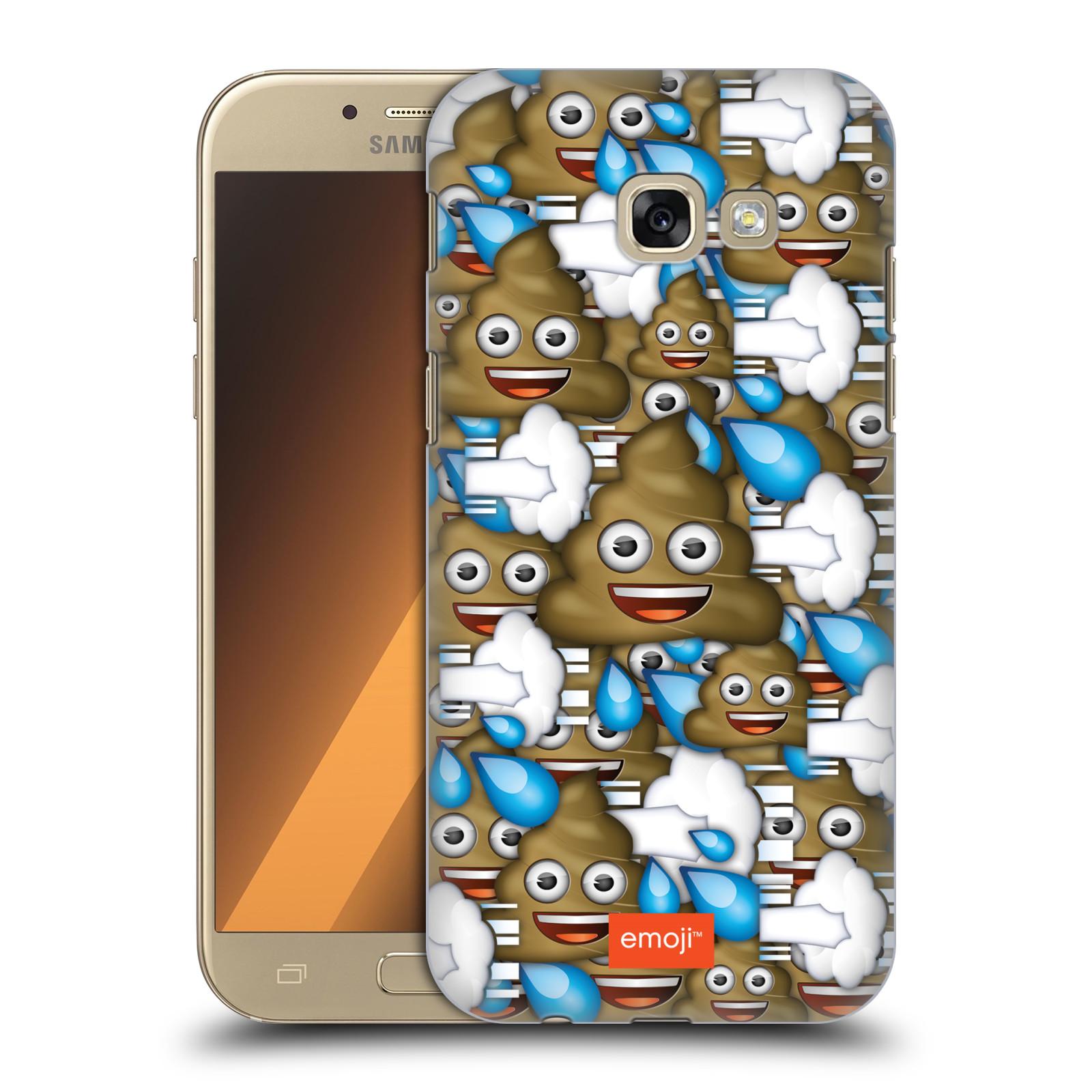 Plastové pouzdro na mobil Samsung Galaxy A5 (2017) HEAD CASE EMOJI - Hovínka a prdíky