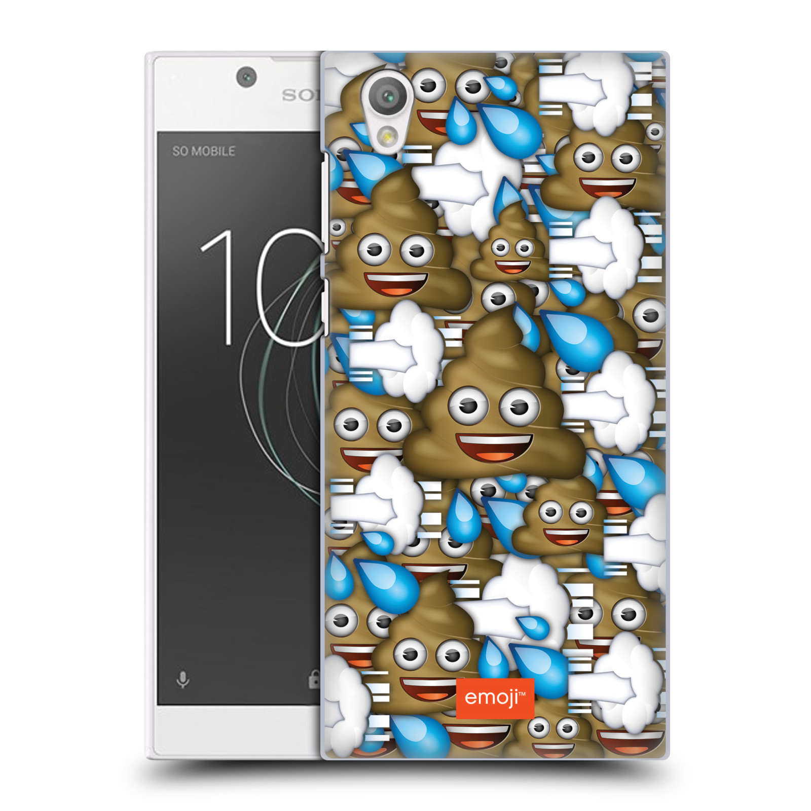 Plastové pouzdro na mobil Sony Xperia L1 - Head Case - EMOJI - Hovínka a prdíky