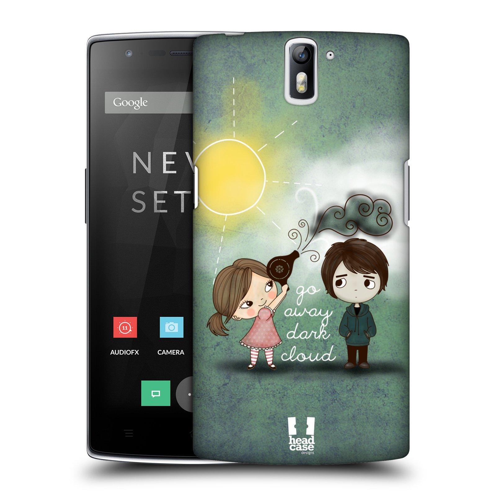 Plastové pouzdro na mobil OnePlus One HEAD CASE Emo Love na Sluníčku (Kryt či obal na mobilní telefon OnePlus One)