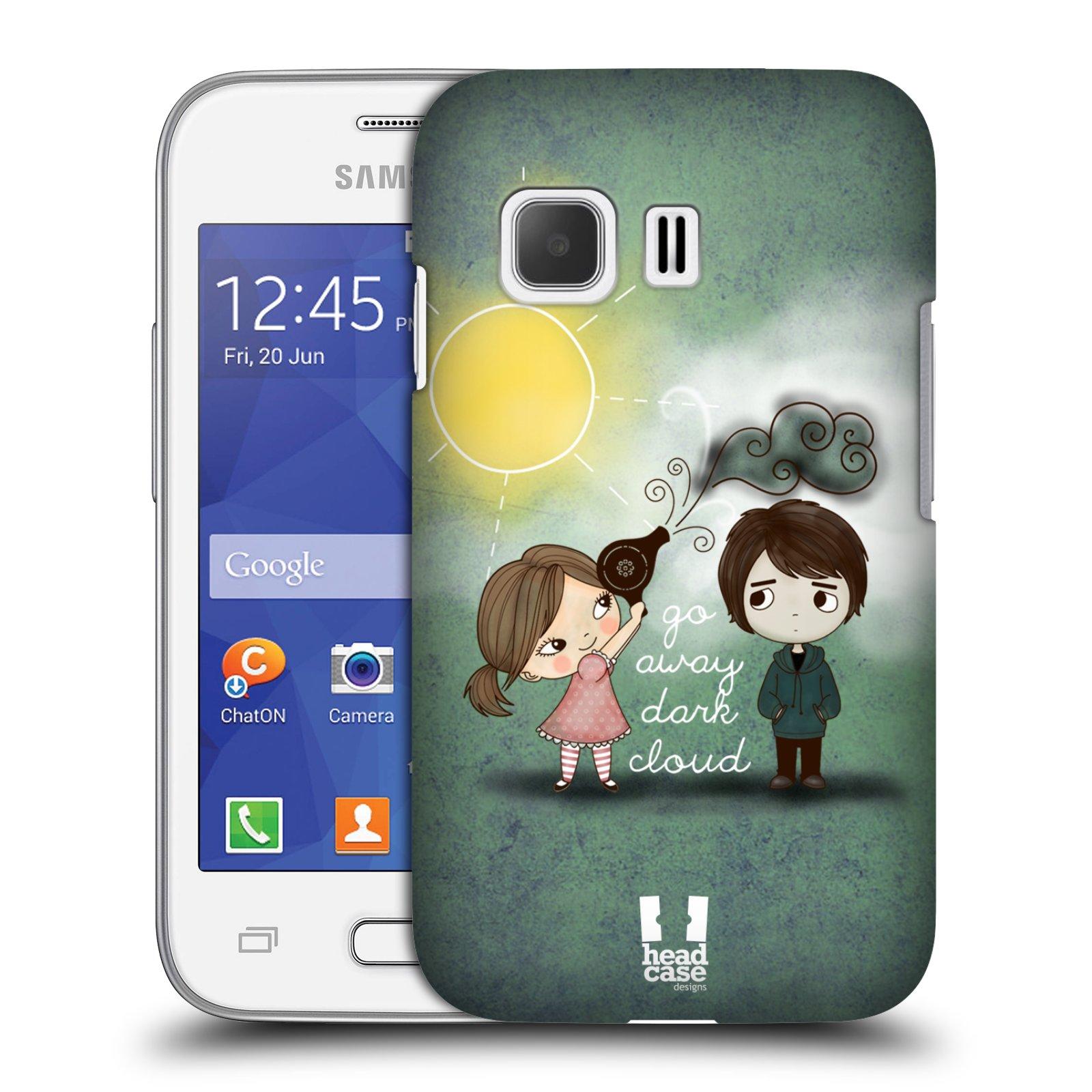 Plastové pouzdro na mobil Samsung Galaxy Young 2 HEAD CASE Emo Love na Sluníčku (Kryt či obal na mobilní telefon Samsung Galaxy Young 2 SM-G130)