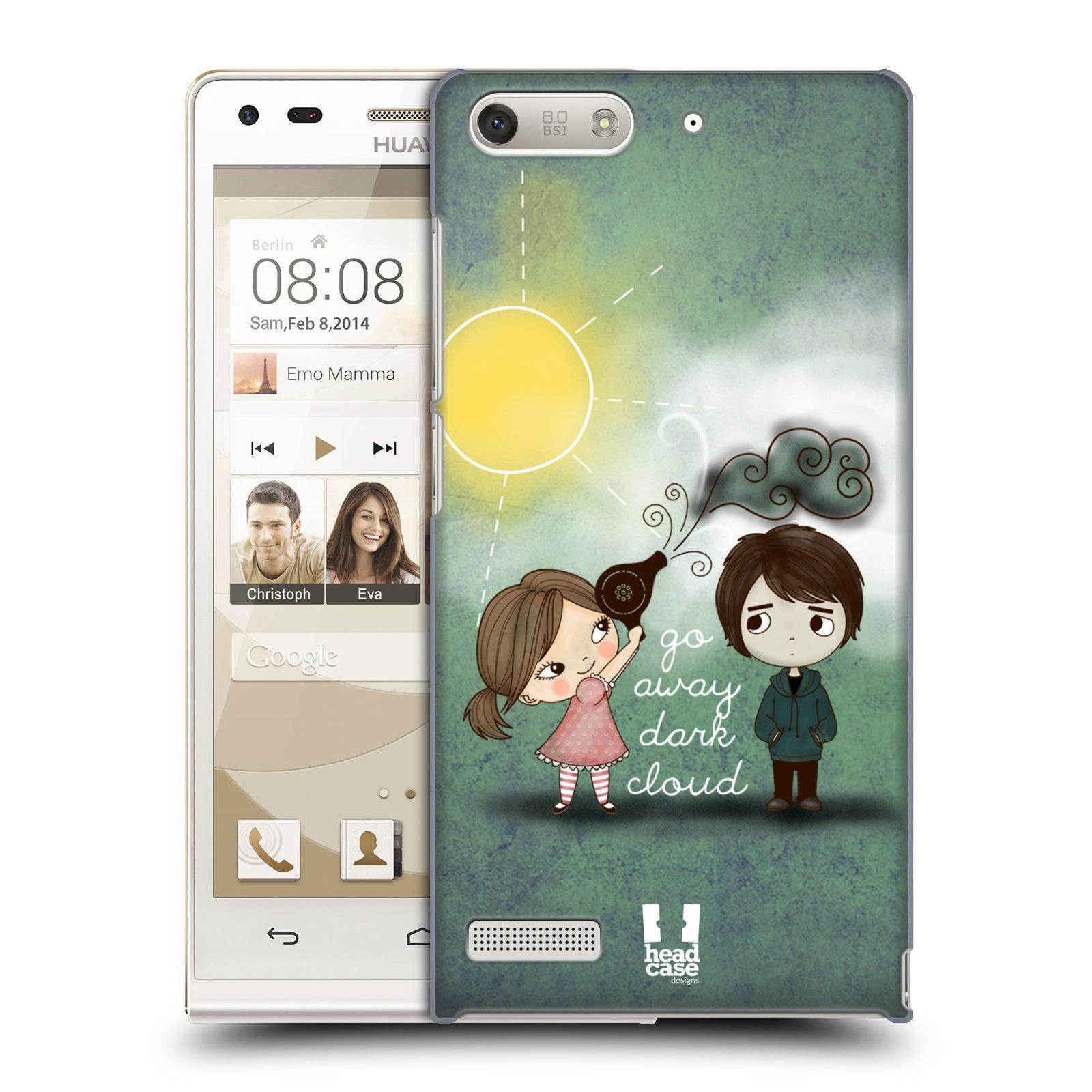 Plastové pouzdro na mobil Huawei Ascend G6 HEAD CASE Emo Love na Sluníčku (Kryt či obal na mobilní telefon Huawei Ascend G6 bez LTE)
