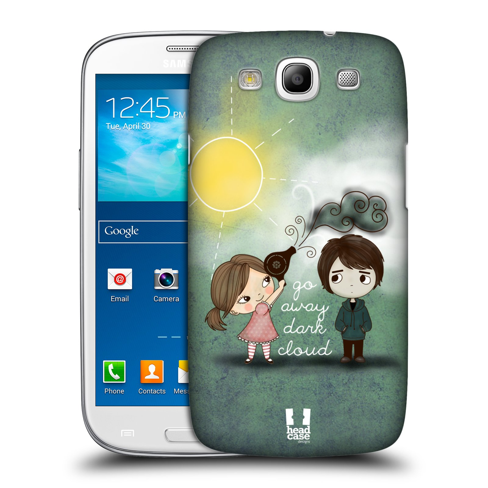 Plastové pouzdro na mobil Samsung Galaxy S3 Neo HEAD CASE Emo Love na Sluníčku (Kryt či obal na mobilní telefon Samsung Galaxy S3 Neo GT-i9301i)
