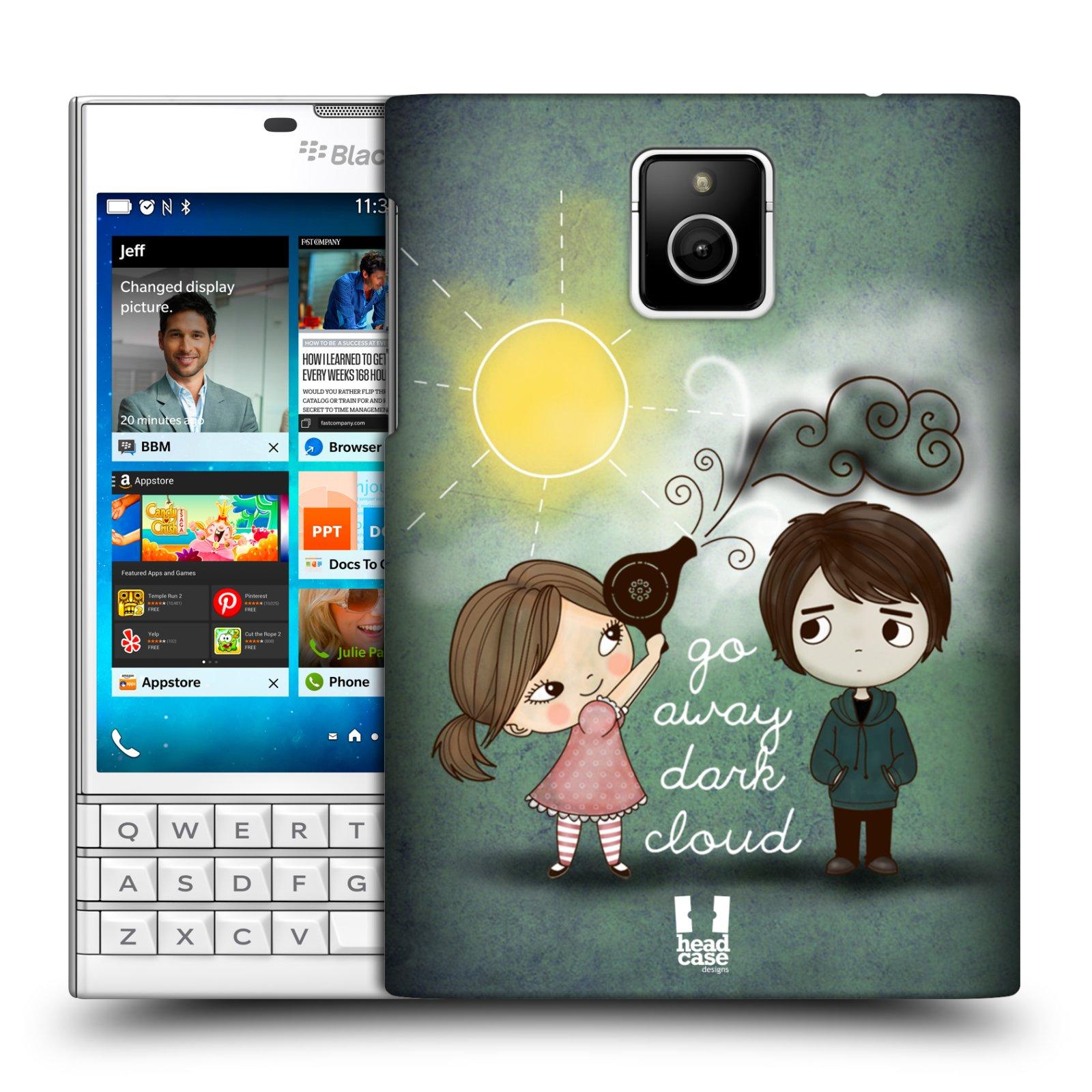 Plastové pouzdro na mobil Blackberry PASSPORT HEAD CASE Emo Love na Sluníčku (Kryt či obal na mobilní telefon Blackberry PASSPORT)
