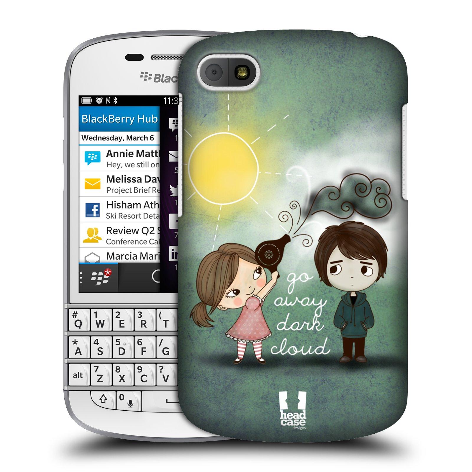 Plastové pouzdro na mobil Blackberry Q10 HEAD CASE Emo Love na Sluníčku (Kryt či obal na mobilní telefon Blackberry Q10)