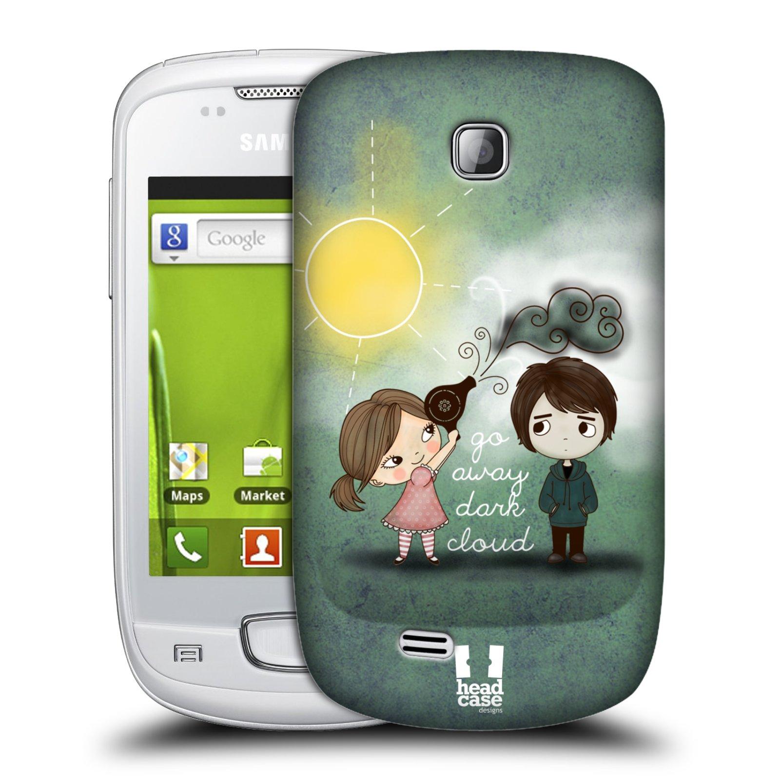 Plastové pouzdro na mobil Samsung Galaxy Mini HEAD CASE Emo Love na Sluníčku (Kryt či obal na mobilní telefon Samsung Galaxy Mini GT-S5570 / GT-S5570i)