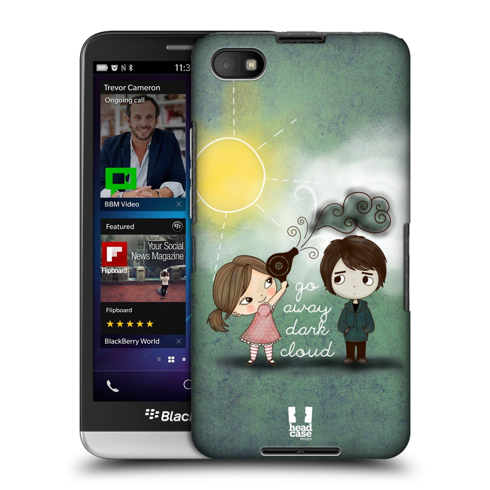 Plastové pouzdro na mobil Blackberry Z30 HEAD CASE Emo Love na Sluníčku (Kryt či obal na mobilní telefon Blackberry Z30)