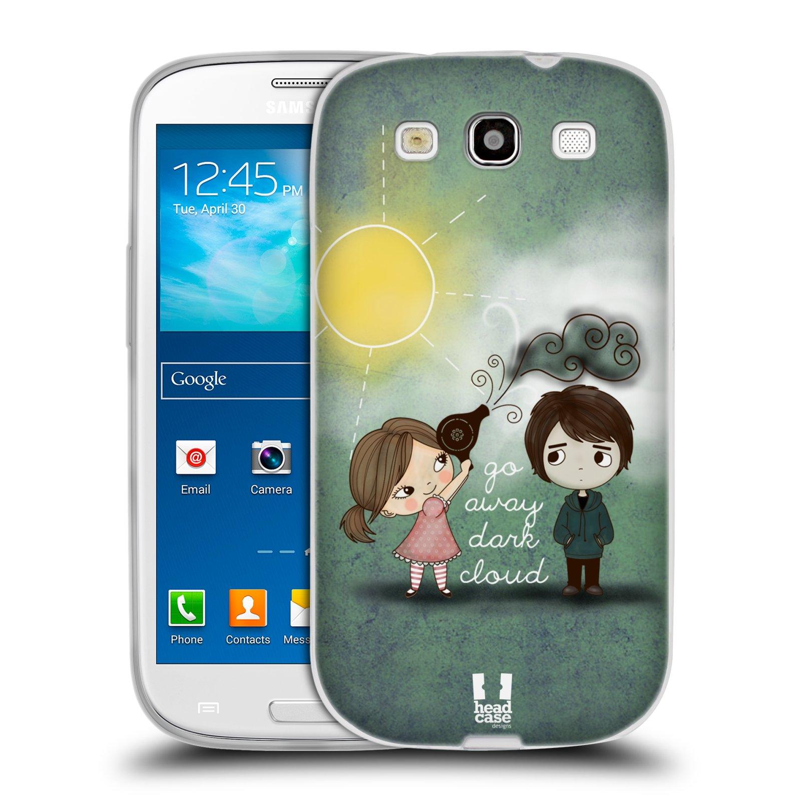 Silikonové pouzdro na mobil Samsung Galaxy S3 Neo HEAD CASE Emo Love na Sluníčku (Silikonový kryt či obal na mobilní telefon Samsung Galaxy S3 Neo GT-i9301i)