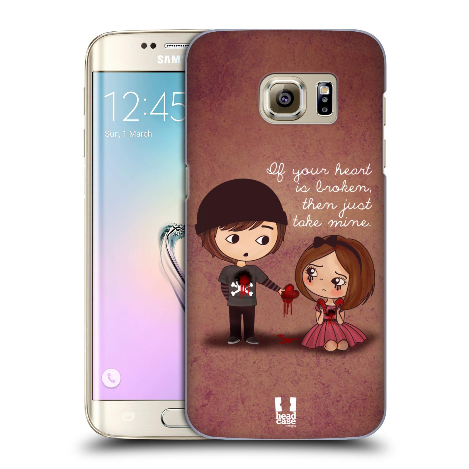 Plastové pouzdro na mobil Samsung Galaxy S7 Edge HEAD CASE Emo Love Srdce (Kryt či obal na mobilní telefon Samsung Galaxy S7 Edge SM-G935F)