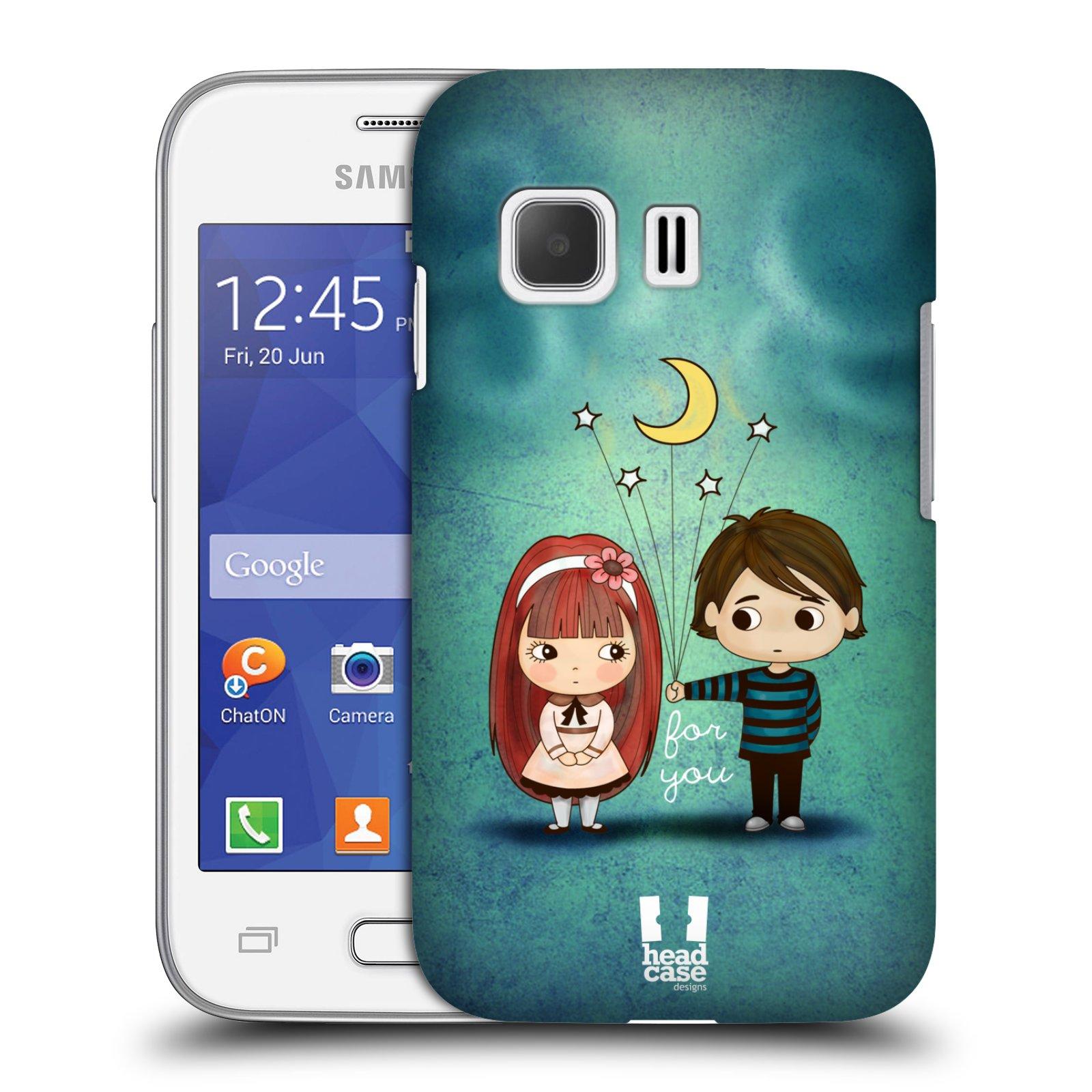 Plastové pouzdro na mobil Samsung Galaxy Young 2 HEAD CASE Emo Love při Měsíčku