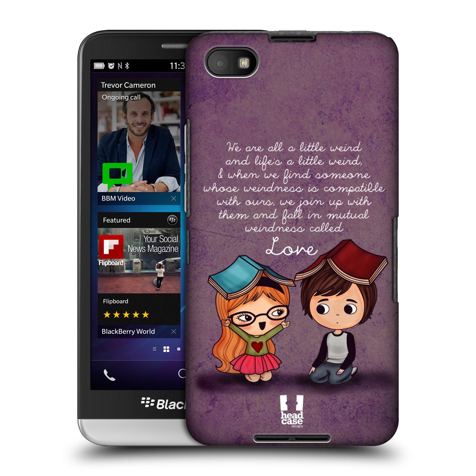 Plastové pouzdro na mobil Blackberry Z30 HEAD CASE Emo Love Weirdness (Kryt či obal na mobilní telefon Blackberry Z30)
