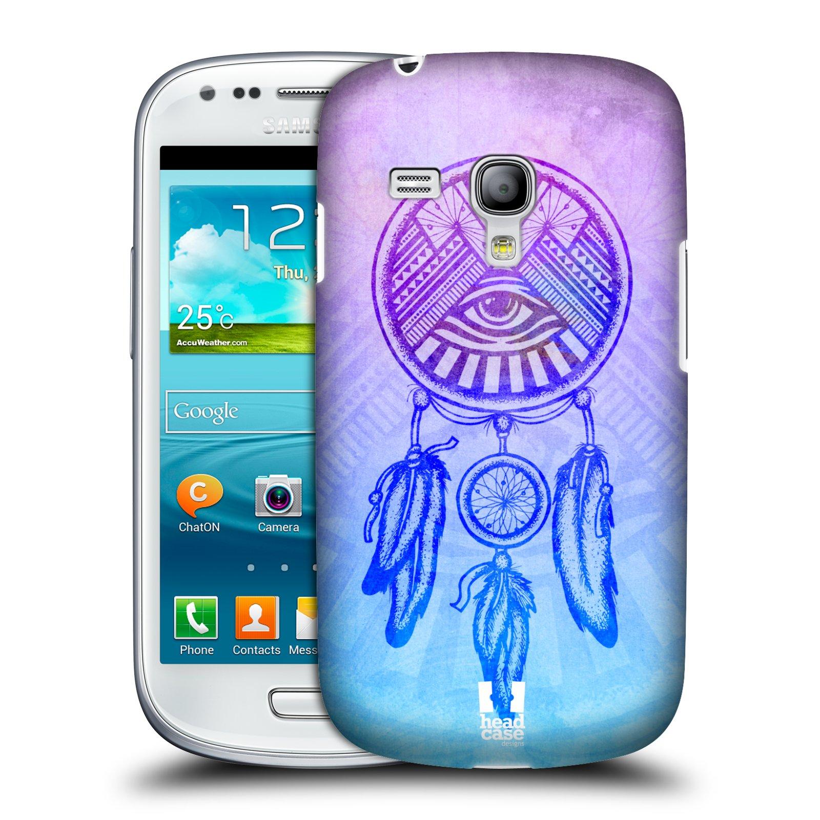 Plastové pouzdro na mobil Samsung Galaxy S III Mini HEAD CASE Lapač s okem (Kryt či obal na mobilní telefon Samsung Galaxy S III Mini GT-i8190)