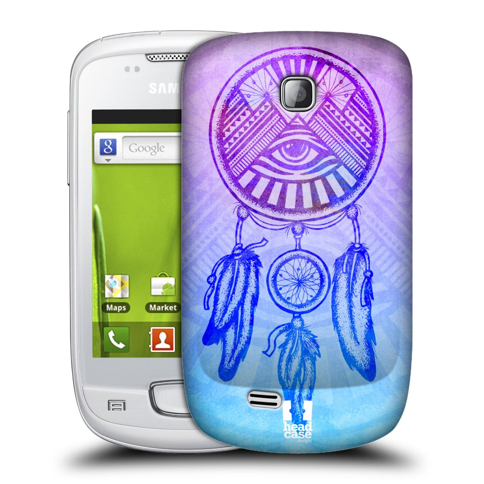 Plastové pouzdro na mobil Samsung Galaxy Mini HEAD CASE Lapač s okem (Kryt či obal na mobilní telefon Samsung Galaxy Mini GT-S5570 / GT-S5570i)
