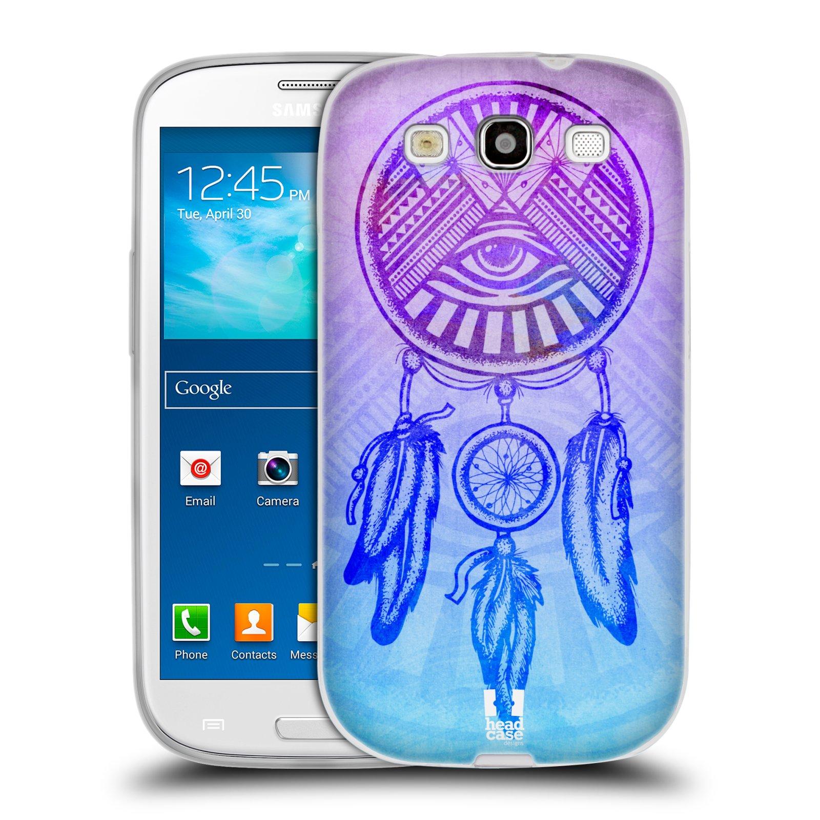 Silikonové pouzdro na mobil Samsung Galaxy S III HEAD CASE Lapač s okem (Silikonový kryt či obal na mobilní telefon Samsung Galaxy S III GT-i9300)