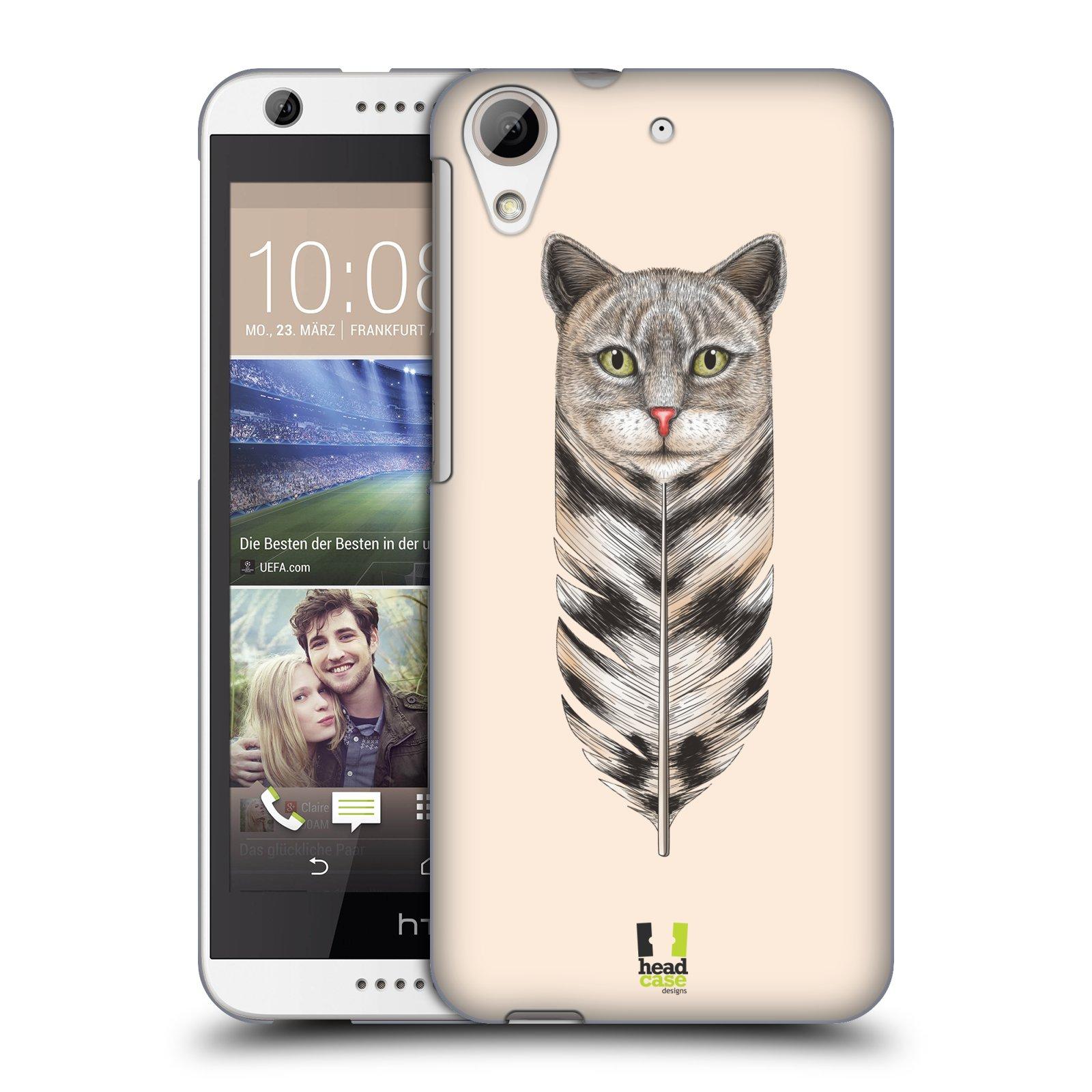 Plastové pouzdro na mobil HTC Desire 626 / 626G HEAD CASE PÍRKO KOČKA (Kryt či obal na mobilní telefon HTC Desire 626G Dual SIM a HTC Desire 626)