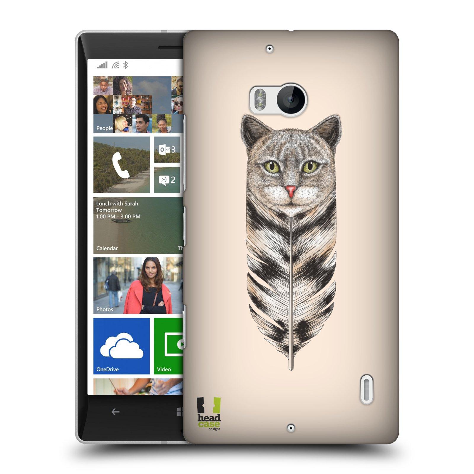 Plastové pouzdro na mobil Nokia Lumia 930 HEAD CASE PÍRKO KOČKA (Kryt či obal na mobilní telefon Nokia Lumia 930)