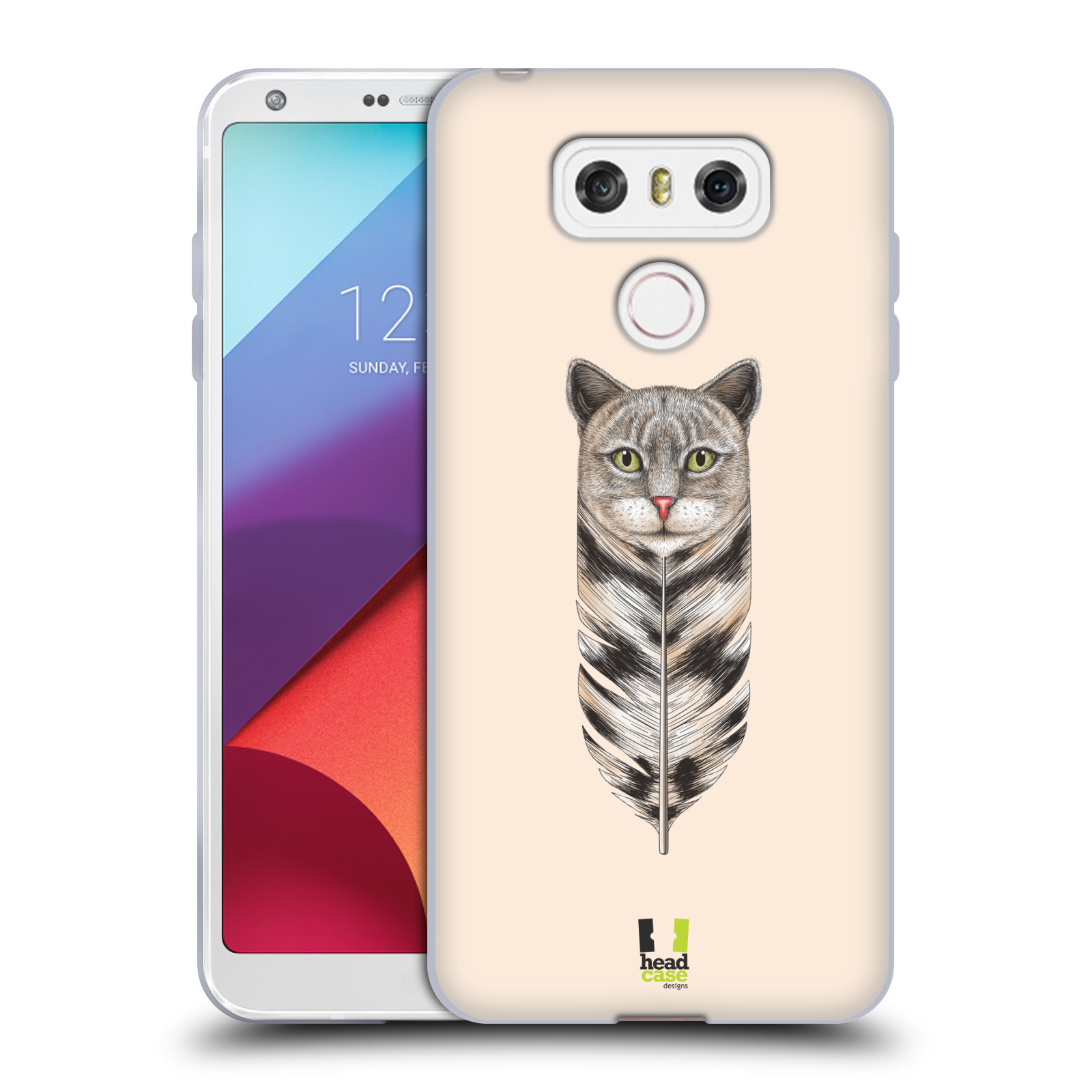 Silikonové pouzdro na mobil LG G6 - Head Case PÍRKO KOČKA (Silikonový kryt či obal na mobilní telefon LG G6 H870 / LG G6 Dual SIM H870DS)