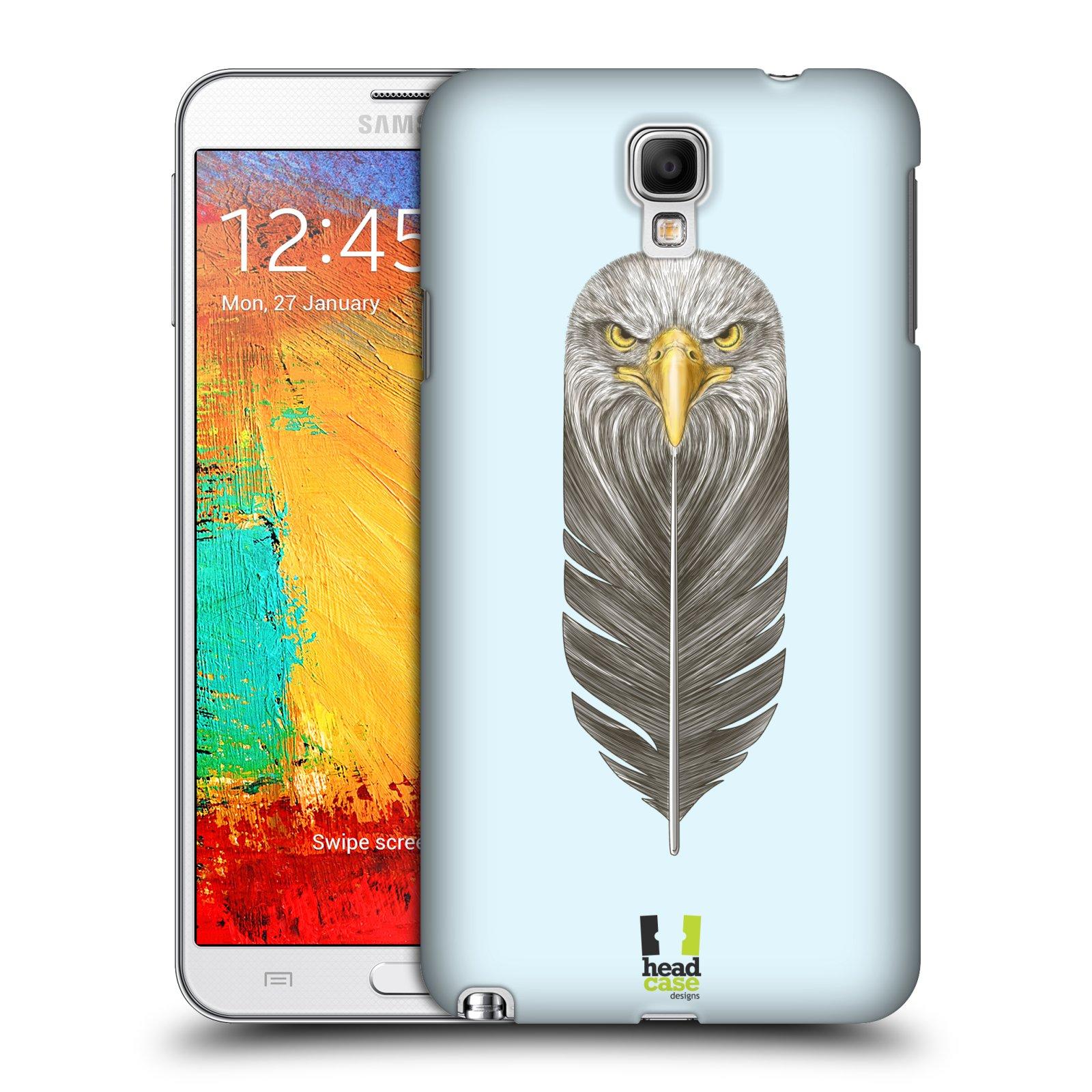 Plastové pouzdro na mobil Samsung Galaxy Note 3 Neo HEAD CASE PÍRKO OREL (Kryt či obal na mobilní telefon Samsung Galaxy Note 3 Neo SM-N7505)
