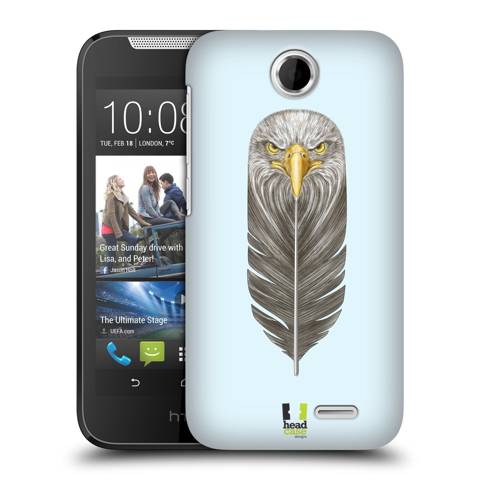 Plastové pouzdro na mobil HTC Desire 310 HEAD CASE PÍRKO OREL (Kryt či obal na mobilní telefon HTC Desire 310)