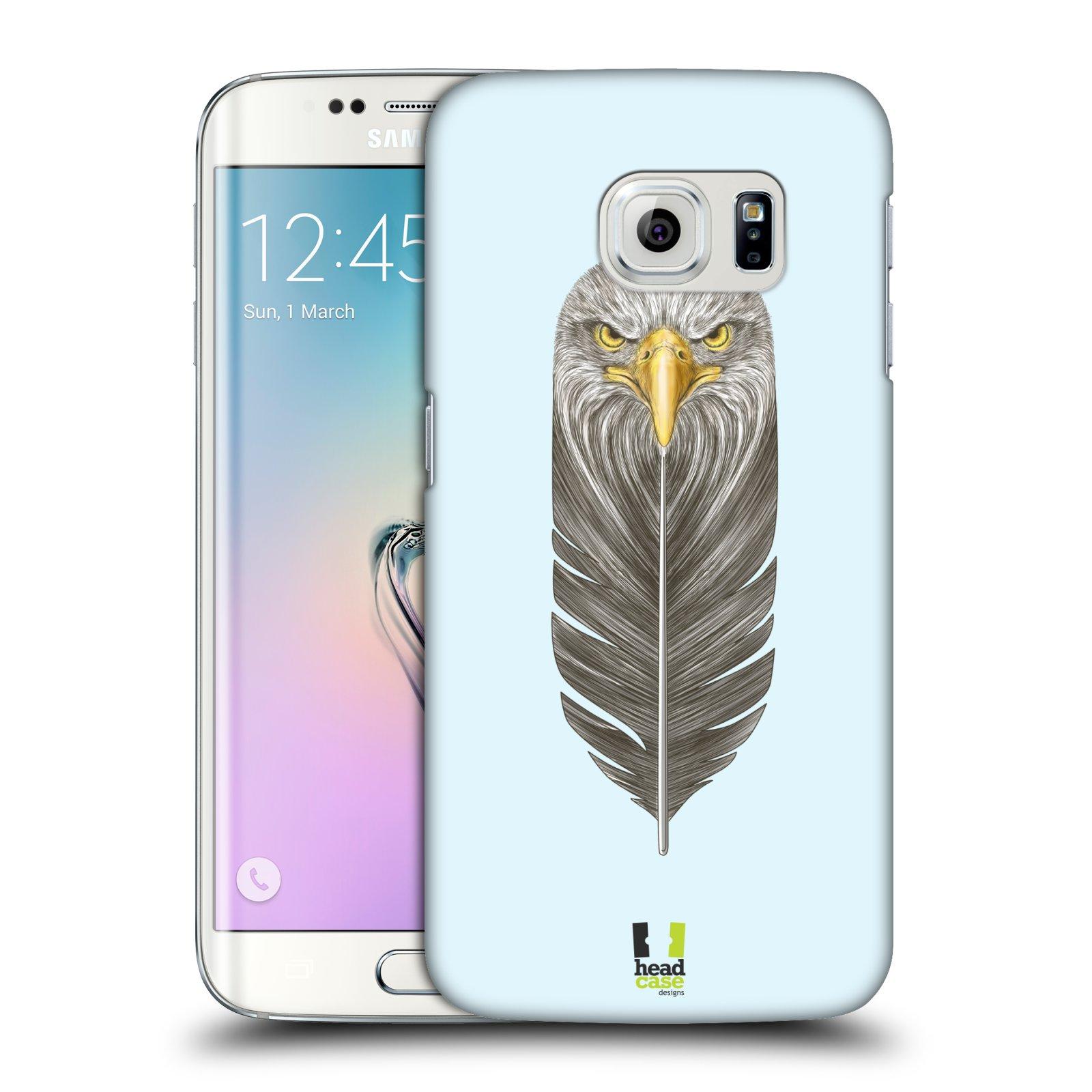 Plastové pouzdro na mobil Samsung Galaxy S6 Edge HEAD CASE PÍRKO OREL (Kryt či obal na mobilní telefon Samsung Galaxy S6 Edge SM-G925F)
