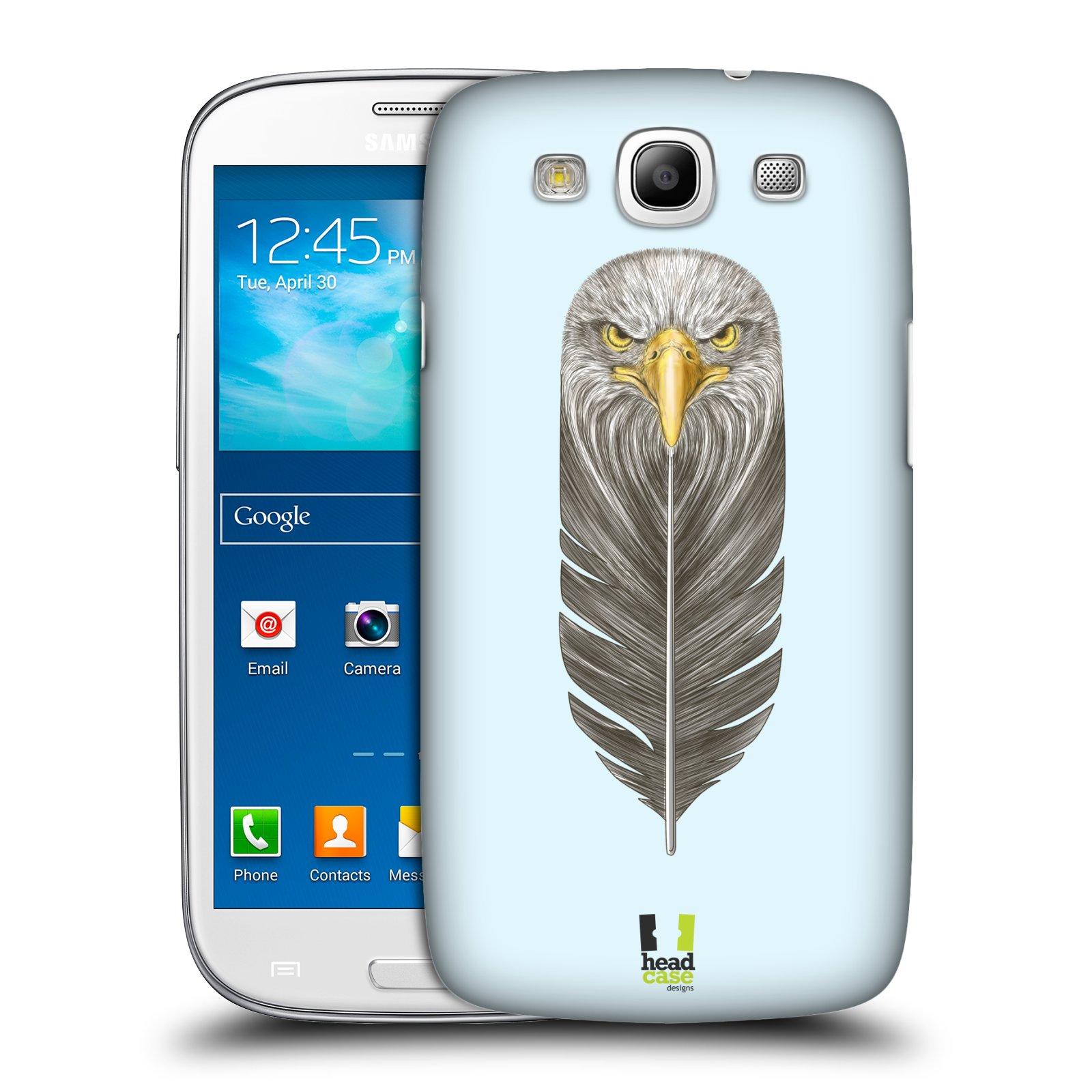 Plastové pouzdro na mobil Samsung Galaxy S3 Neo HEAD CASE PÍRKO OREL