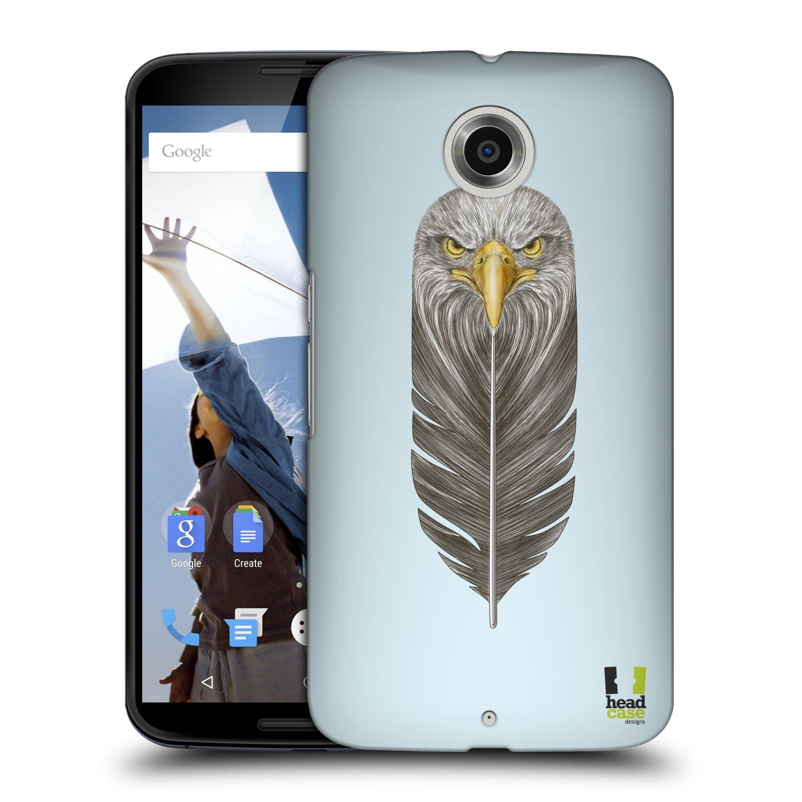 Plastové pouzdro na mobil Motorola Nexus 6 HEAD CASE PÍRKO OREL (Kryt či obal na mobilní telefon Motorola Nexus 6)