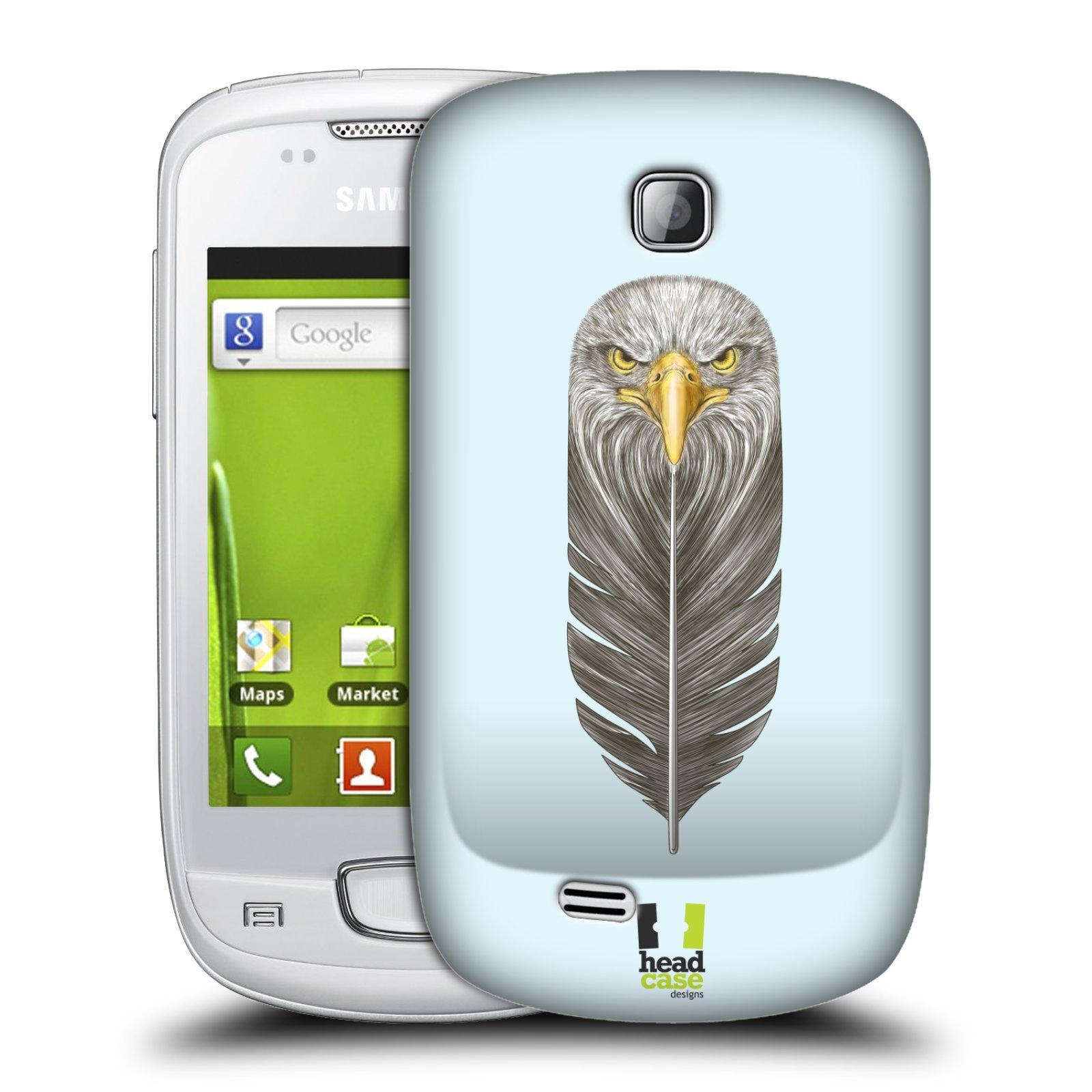 Plastové pouzdro na mobil Samsung Galaxy Mini HEAD CASE PÍRKO OREL (Kryt či obal na mobilní telefon Samsung Galaxy Mini GT-S5570 / GT-S5570i)
