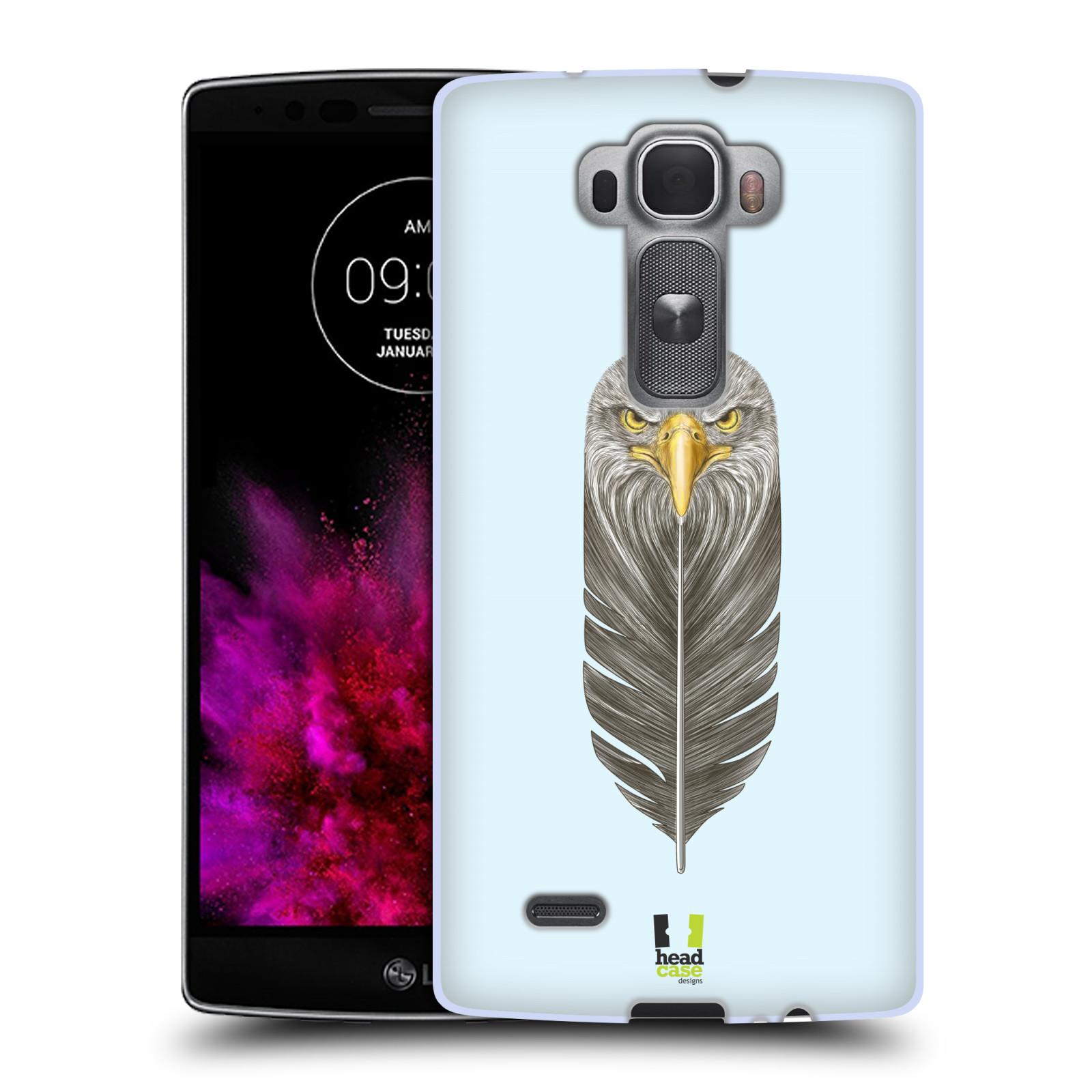 Silikonové pouzdro na mobil LG G Flex 2 HEAD CASE PÍRKO OREL (Silikonový kryt či obal na mobilní telefon LG G Flex 2 H955)