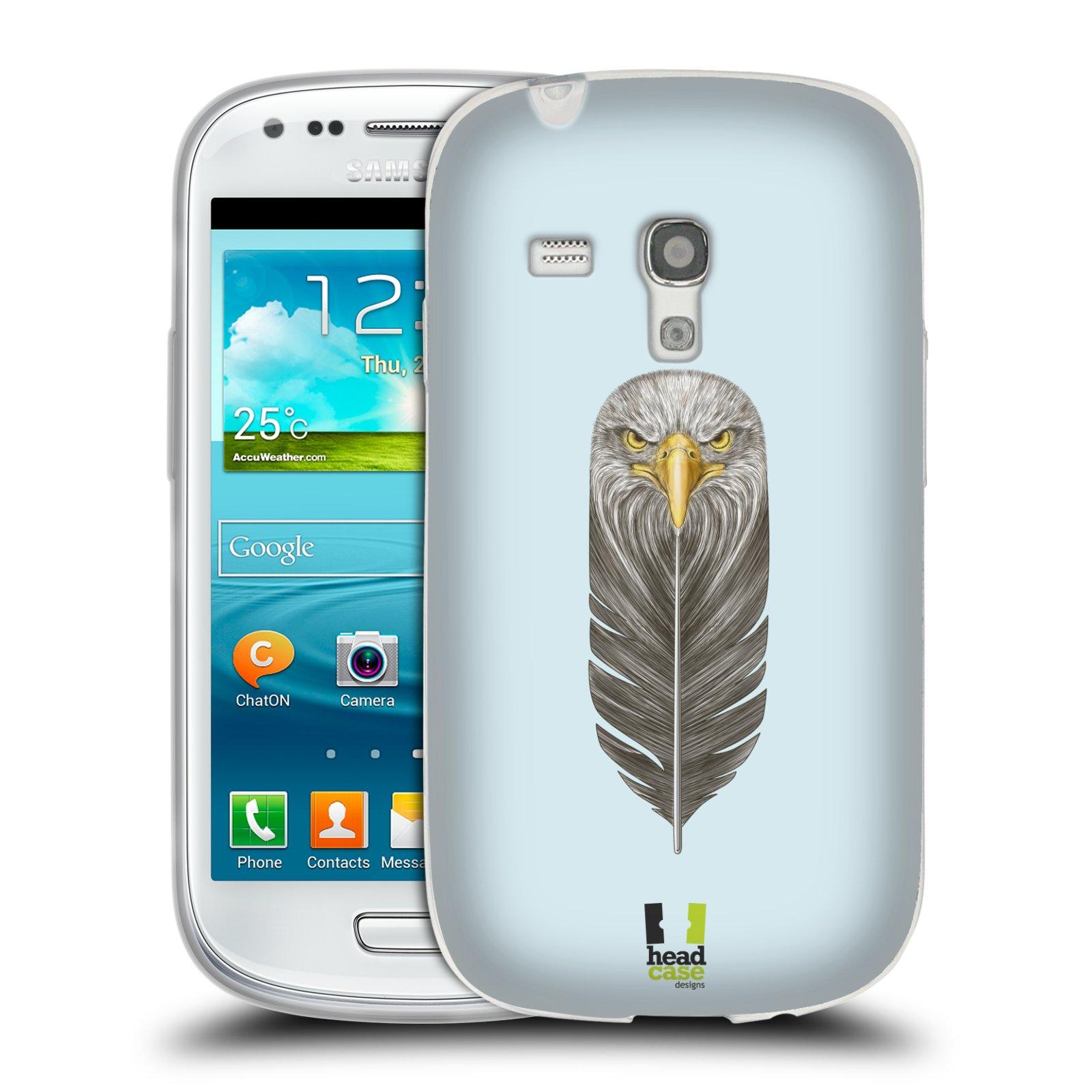 Silikonové pouzdro na mobil Samsung Galaxy S3 Mini VE HEAD CASE PÍRKO OREL (Silikonový kryt či obal na mobilní telefon Samsung Galaxy S3 Mini VE GT-i8200)