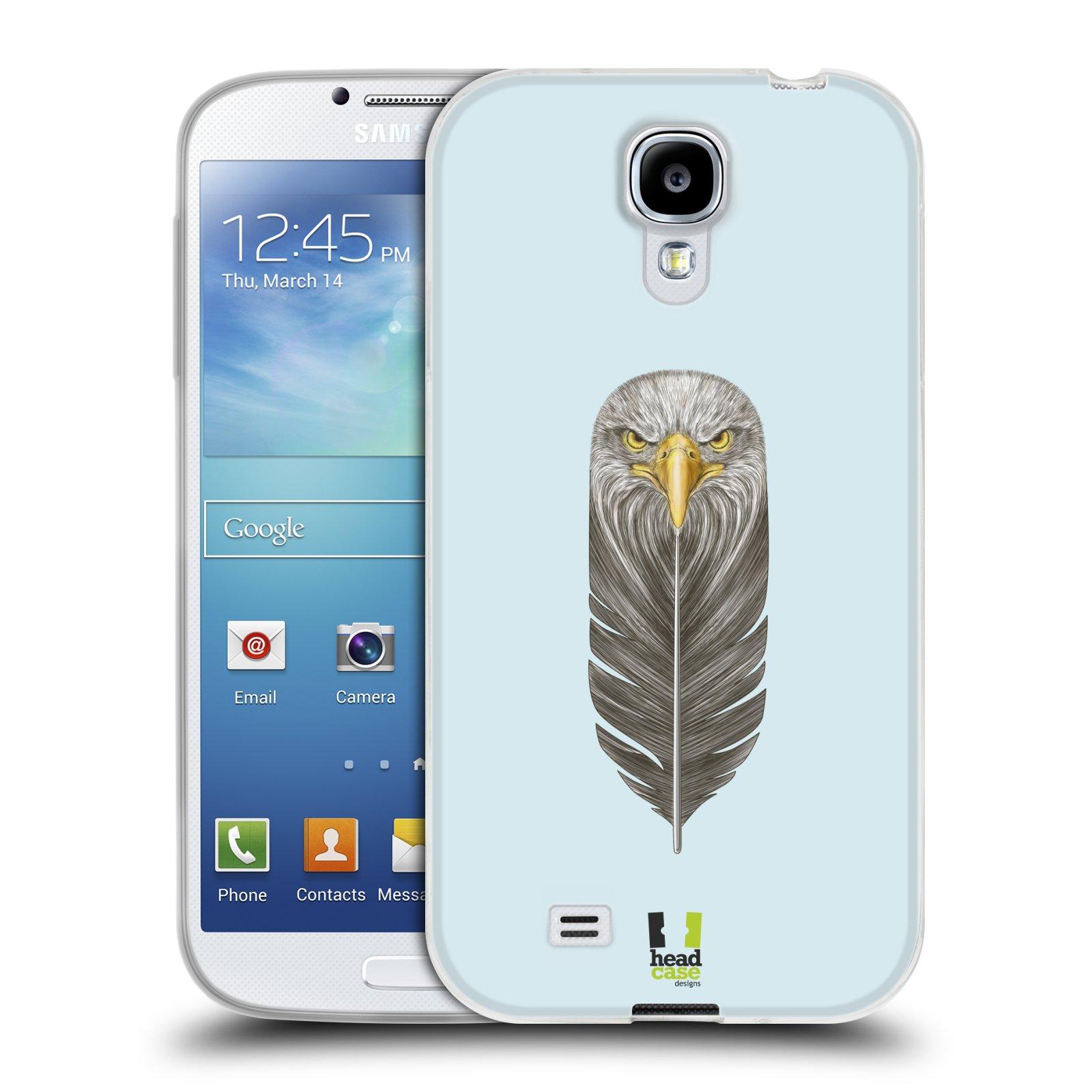 Silikonové pouzdro na mobil Samsung Galaxy S4 HEAD CASE PÍRKO OREL (Silikonový kryt či obal na mobilní telefon Samsung Galaxy S4 GT-i9505 / i9500)