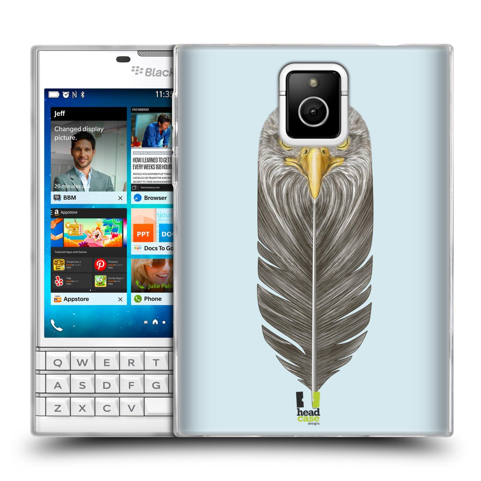 Silikonové pouzdro na mobil Blackberry PASSPORT HEAD CASE PÍRKO OREL (Silikonový kryt či obal na mobilní telefon Blackberry PASSPORT)