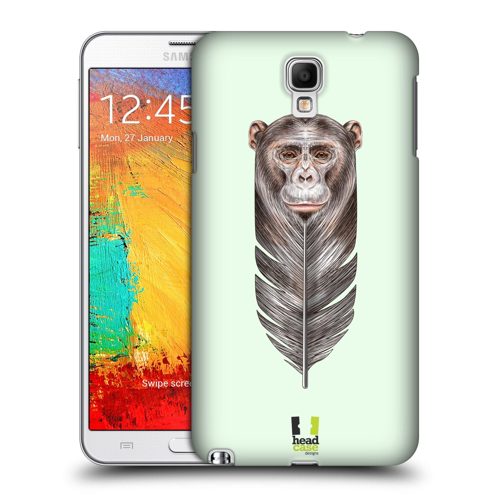 Plastové pouzdro na mobil Samsung Galaxy Note 3 Neo HEAD CASE PÍRKO OPIČKA (Kryt či obal na mobilní telefon Samsung Galaxy Note 3 Neo SM-N7505)