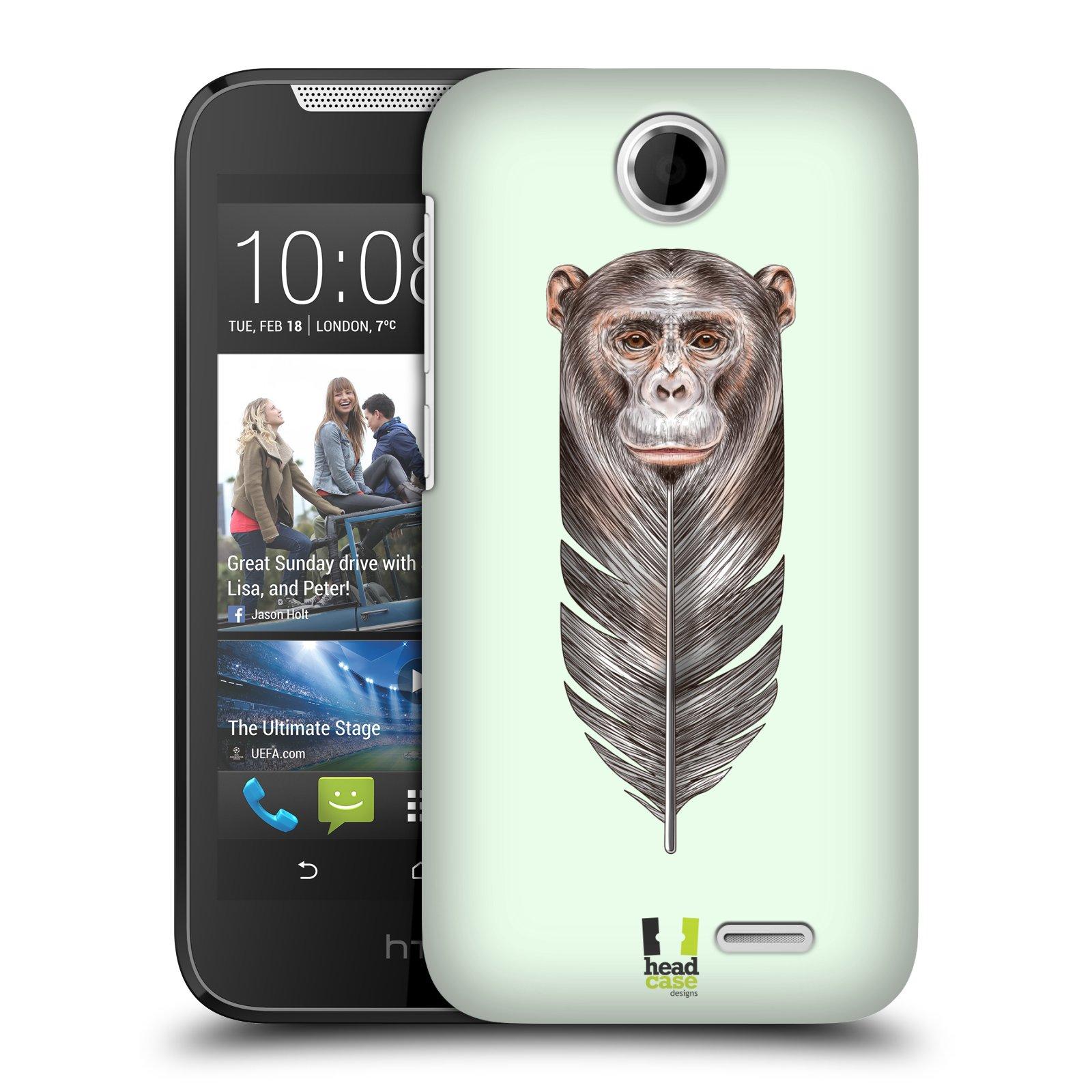 Plastové pouzdro na mobil HTC Desire 310 HEAD CASE PÍRKO OPIČKA (Kryt či obal na mobilní telefon HTC Desire 310)