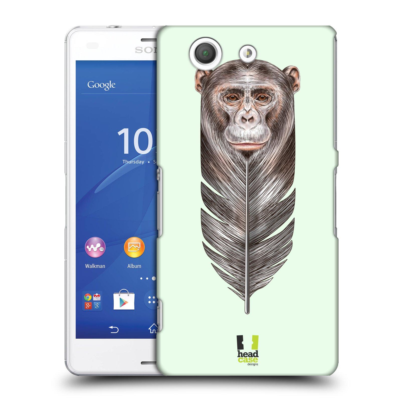 Plastové pouzdro na mobil Sony Xperia Z3 Compact D5803 HEAD CASE PÍRKO OPIČKA