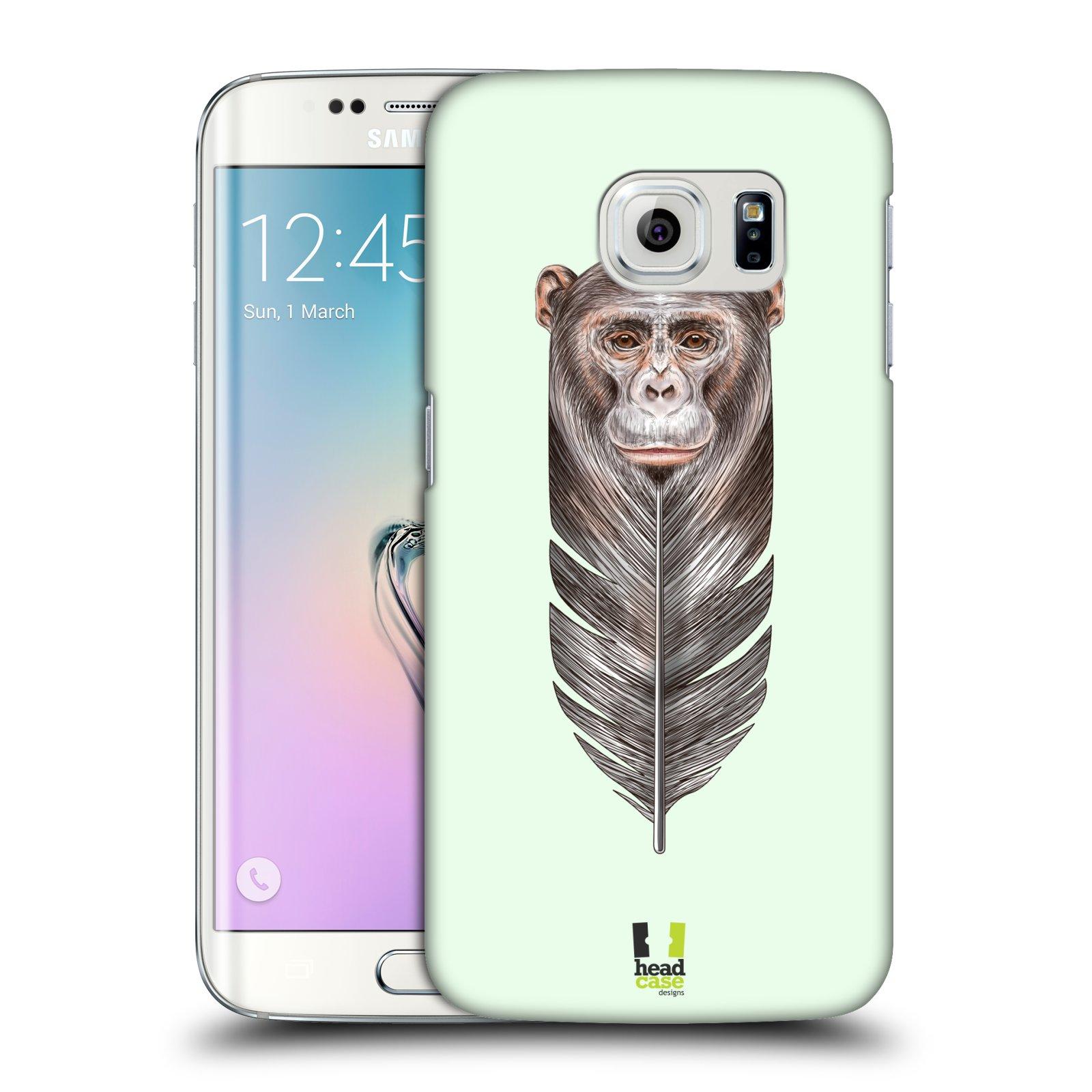 Plastové pouzdro na mobil Samsung Galaxy S6 Edge HEAD CASE PÍRKO OPIČKA (Kryt či obal na mobilní telefon Samsung Galaxy S6 Edge SM-G925F)