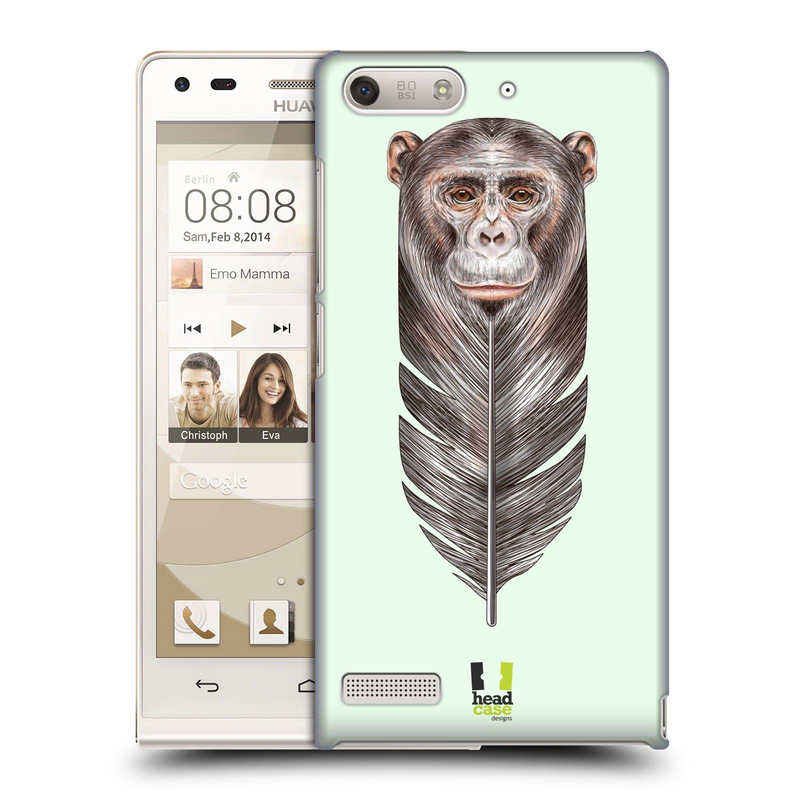 Plastové pouzdro na mobil Huawei Ascend G6 HEAD CASE PÍRKO OPIČKA (Kryt či obal na mobilní telefon Huawei Ascend G6 bez LTE)