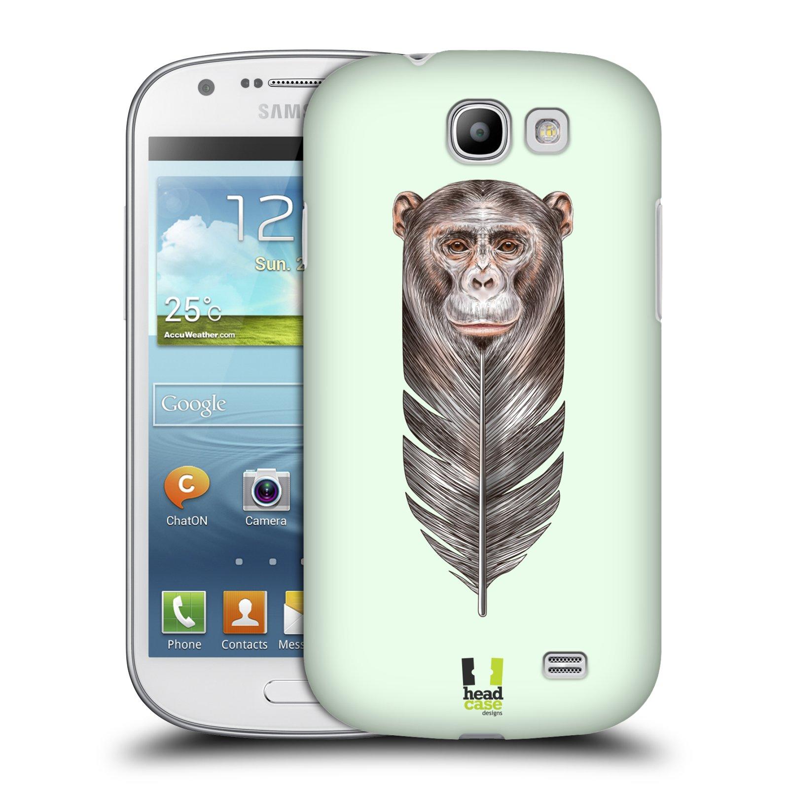 Plastové pouzdro na mobil Samsung Galaxy Express HEAD CASE PÍRKO OPIČKA (Kryt či obal na mobilní telefon Samsung Galaxy Express GT-i8730)