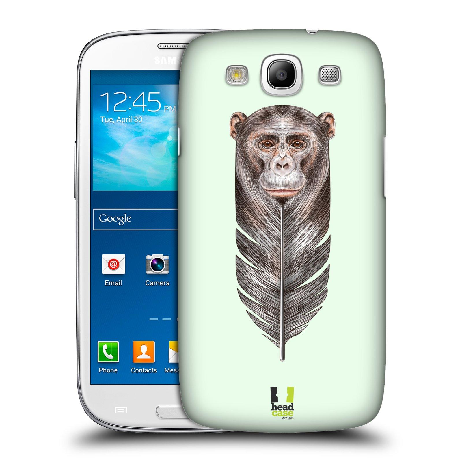 Plastové pouzdro na mobil Samsung Galaxy S3 Neo HEAD CASE PÍRKO OPIČKA
