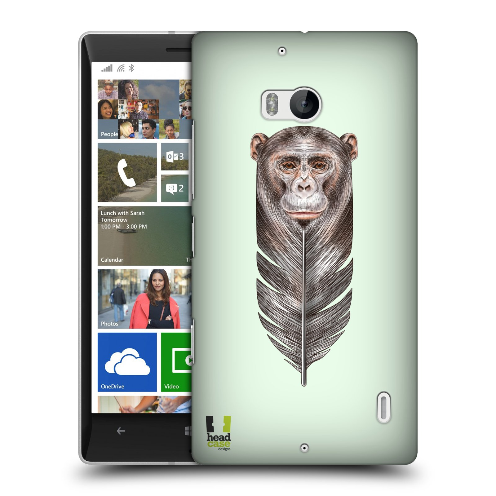 Plastové pouzdro na mobil Nokia Lumia 930 HEAD CASE PÍRKO OPIČKA (Kryt či obal na mobilní telefon Nokia Lumia 930)