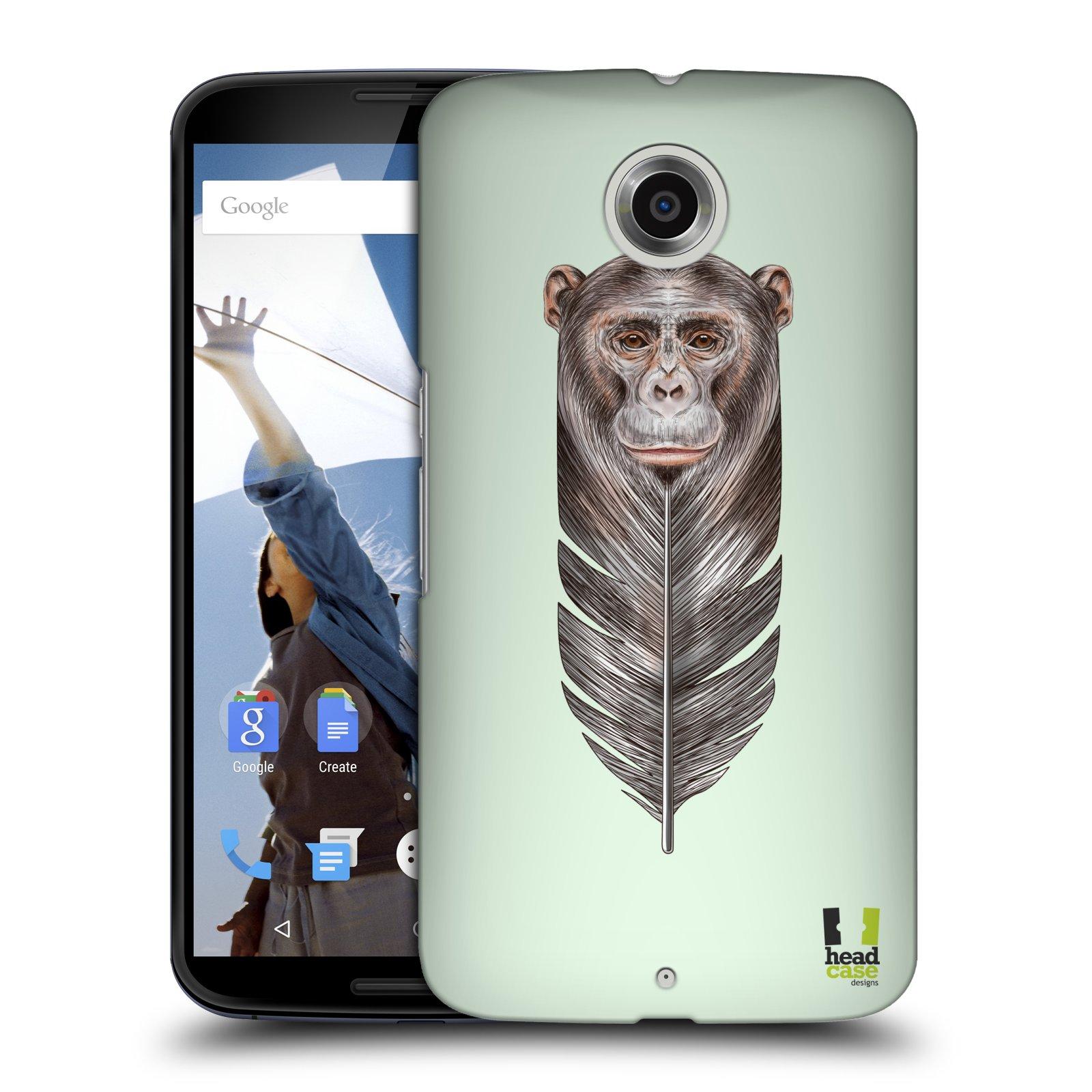 Plastové pouzdro na mobil Motorola Nexus 6 HEAD CASE PÍRKO OPIČKA (Kryt či obal na mobilní telefon Motorola Nexus 6)