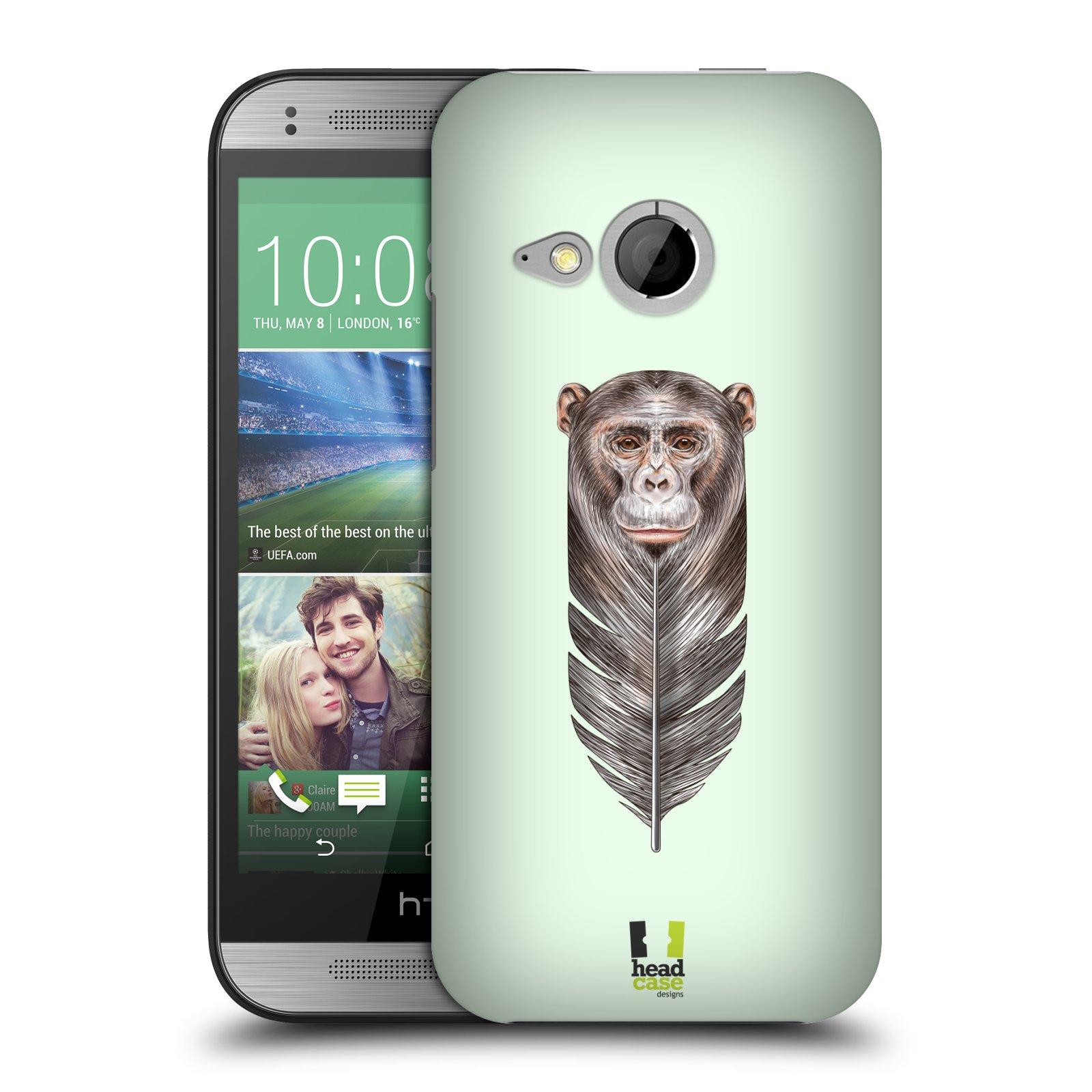 Plastové pouzdro na mobil HTC ONE Mini 2 HEAD CASE PÍRKO OPIČKA (Kryt či obal na mobilní telefon HTC ONE Mini 2)