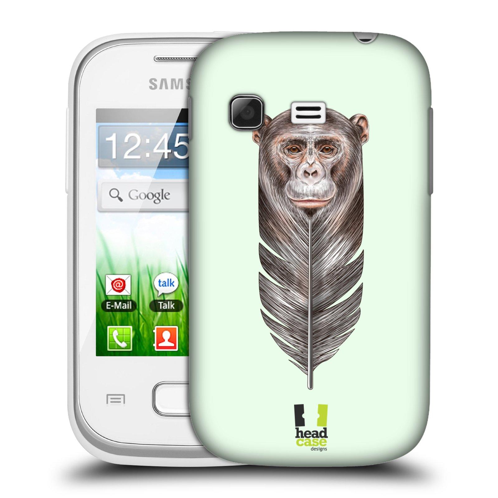 Plastové pouzdro na mobil Samsung Galaxy Pocket HEAD CASE PÍRKO OPIČKA (Kryt či obal na mobilní telefon Samsung Galaxy Pocket GT-S5300)