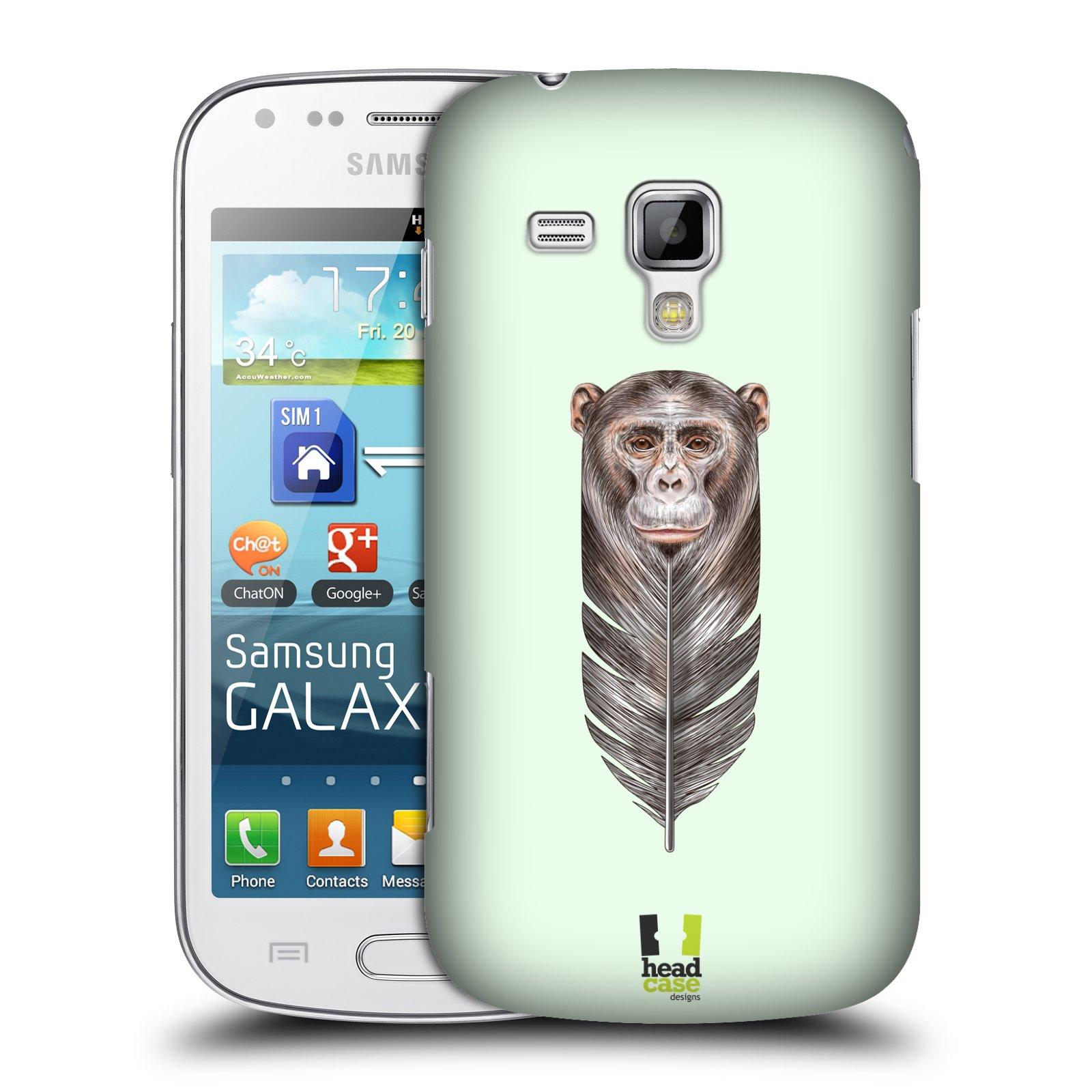 Plastové pouzdro na mobil Samsung Galaxy Trend Plus HEAD CASE PÍRKO OPIČKA (Kryt či obal na mobilní telefon Samsung Galaxy Trend Plus GT-S7580)