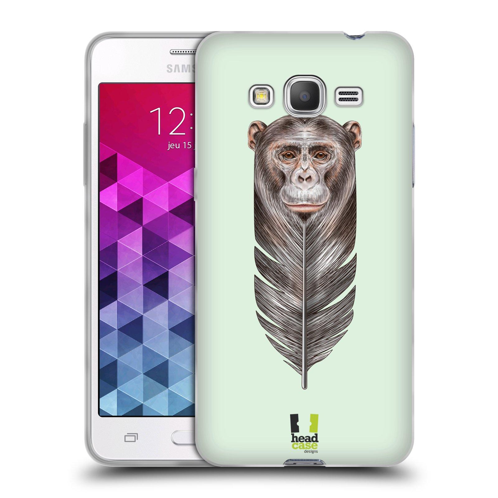 Silikonové pouzdro na mobil Samsung Galaxy Grand Prime VE HEAD CASE PÍRKO OPIČKA (Silikonový kryt či obal na mobilní telefon Samsung Galaxy Grand Prime VE SM-G531F)