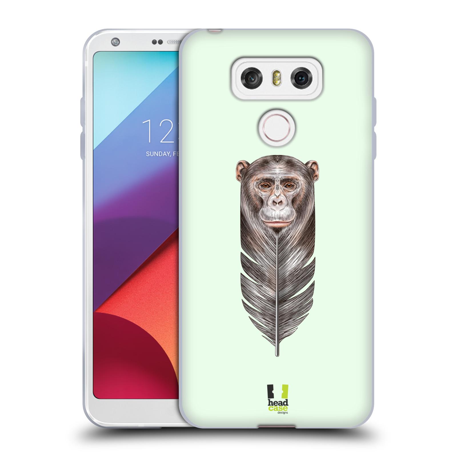 Silikonové pouzdro na mobil LG G6 - Head Case PÍRKO OPIČKA (Silikonový kryt či obal na mobilní telefon LG G6 H870 / LG G6 Dual SIM H870DS)